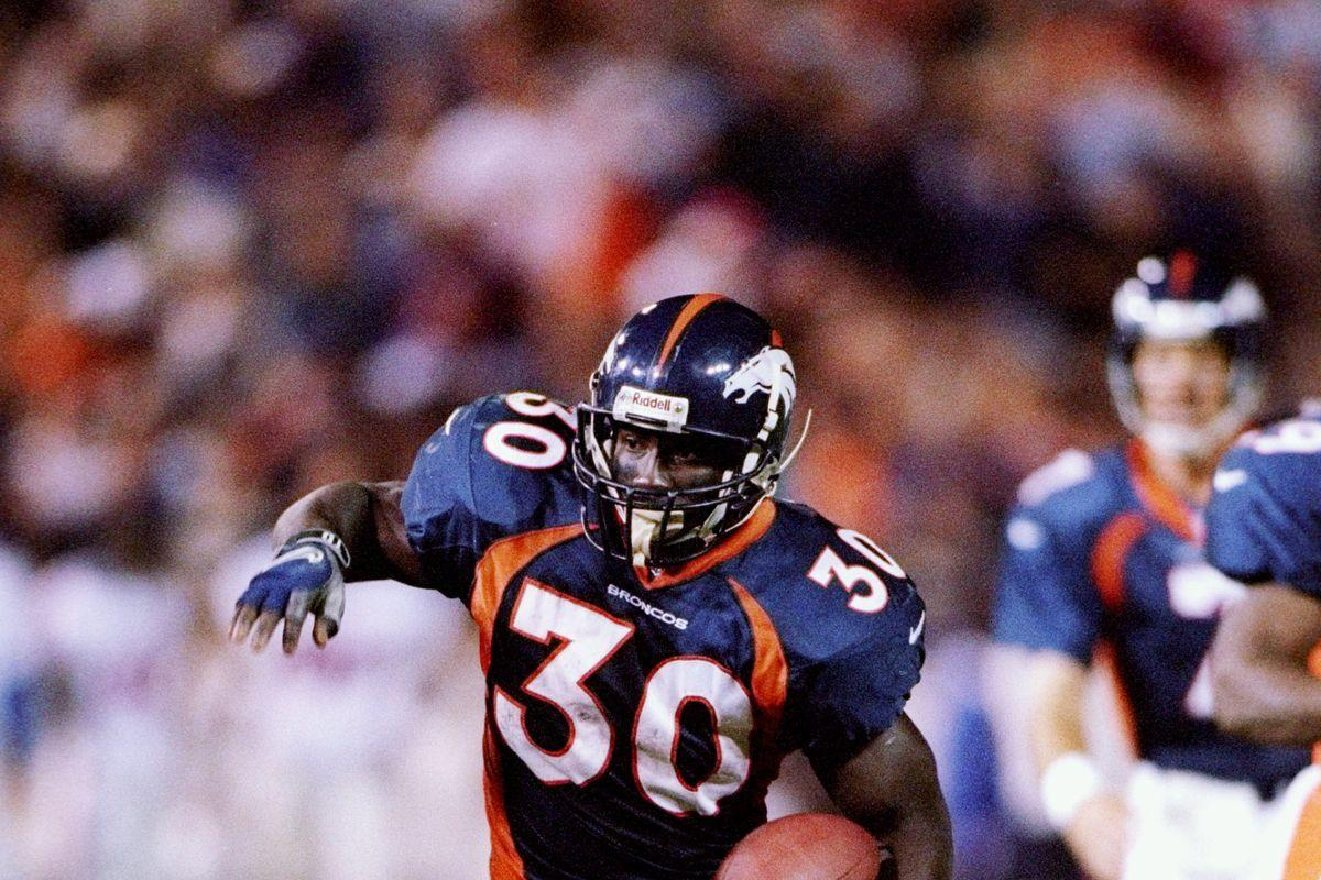 biography of terrel davis an american football running back Terrell davis talks of overcoming adversity in gratitude-filled edt american football  terrell davis the former broncos running back faced a lot.