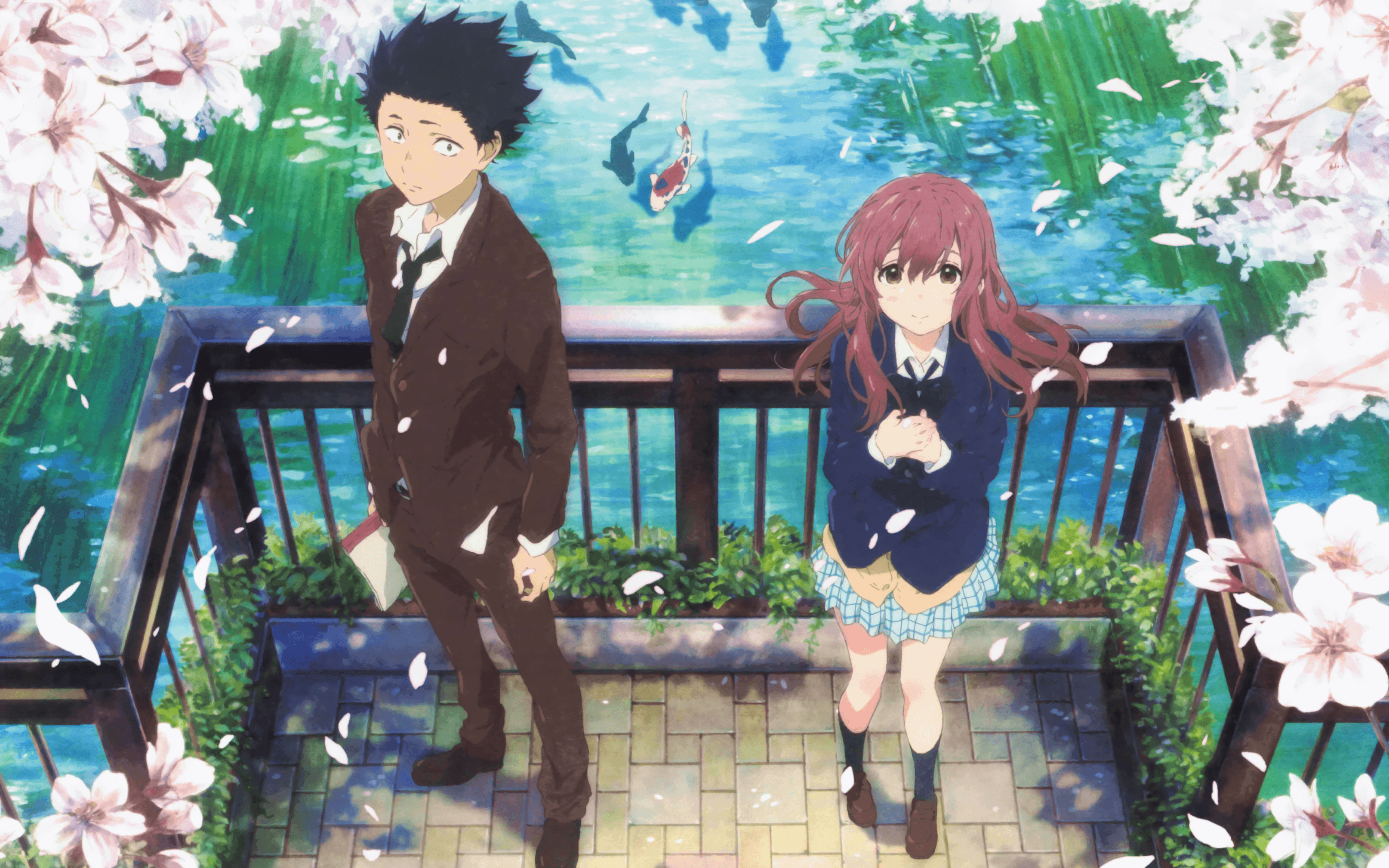 275 Koe No Katachi HD Wallpapers | Backgrounds - Wallpaper Abyss ...