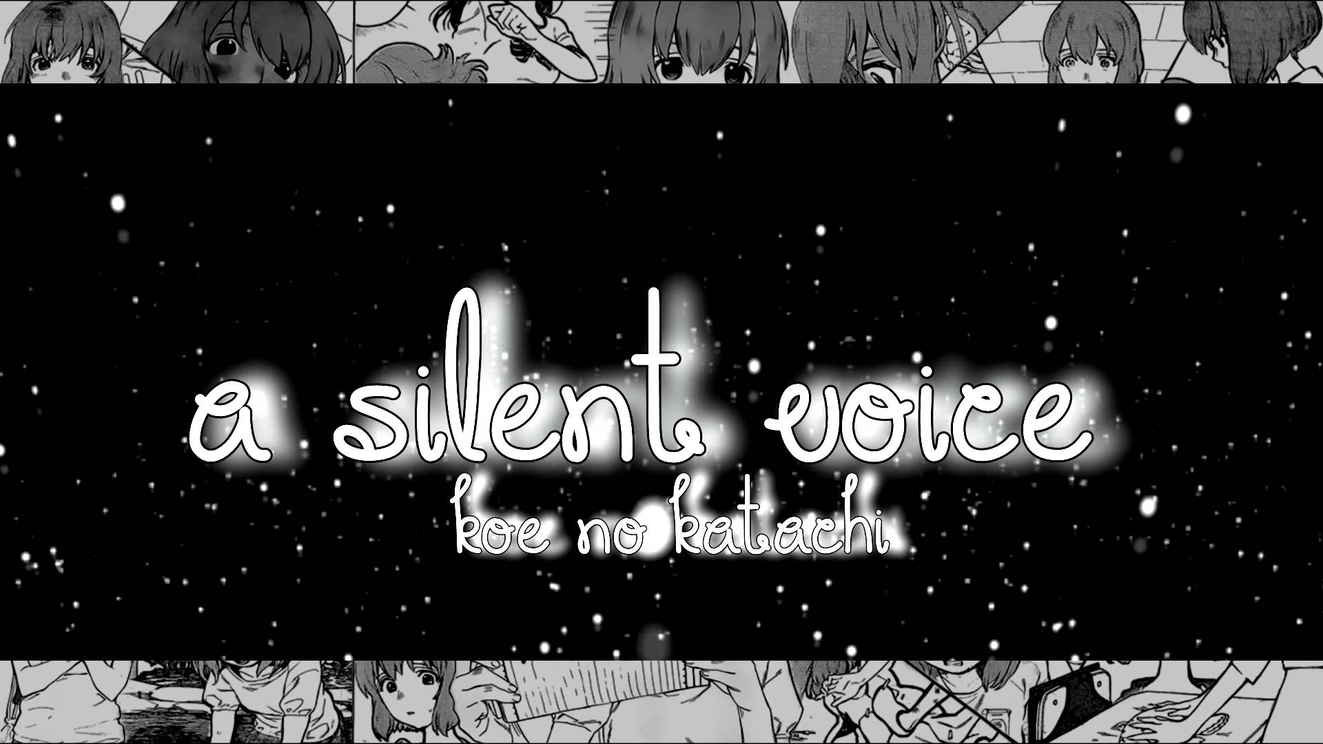 A Silent Voice【Manga OneShot Ðub】 :: MOMENTARILY DISCONTINUED ...