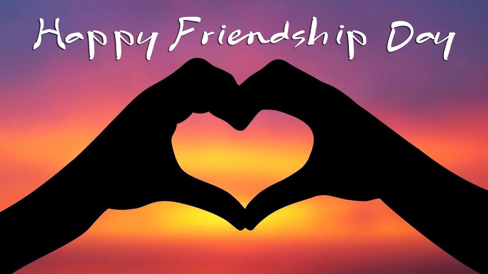 Happy Friendship Day 2016 Images HD 3d Wallpapers Free Download .