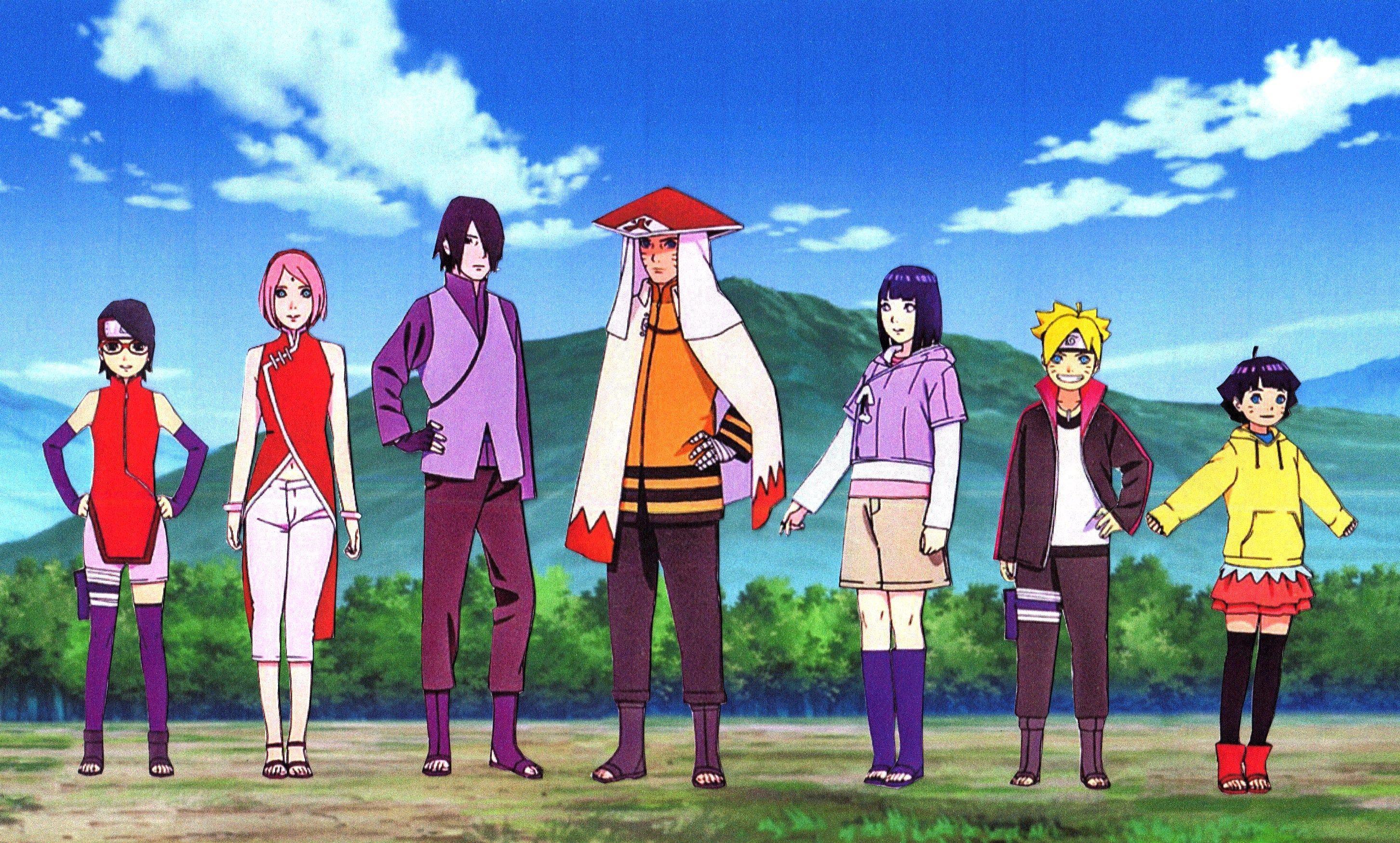 Naruto And Sasuke Family Wallpaper