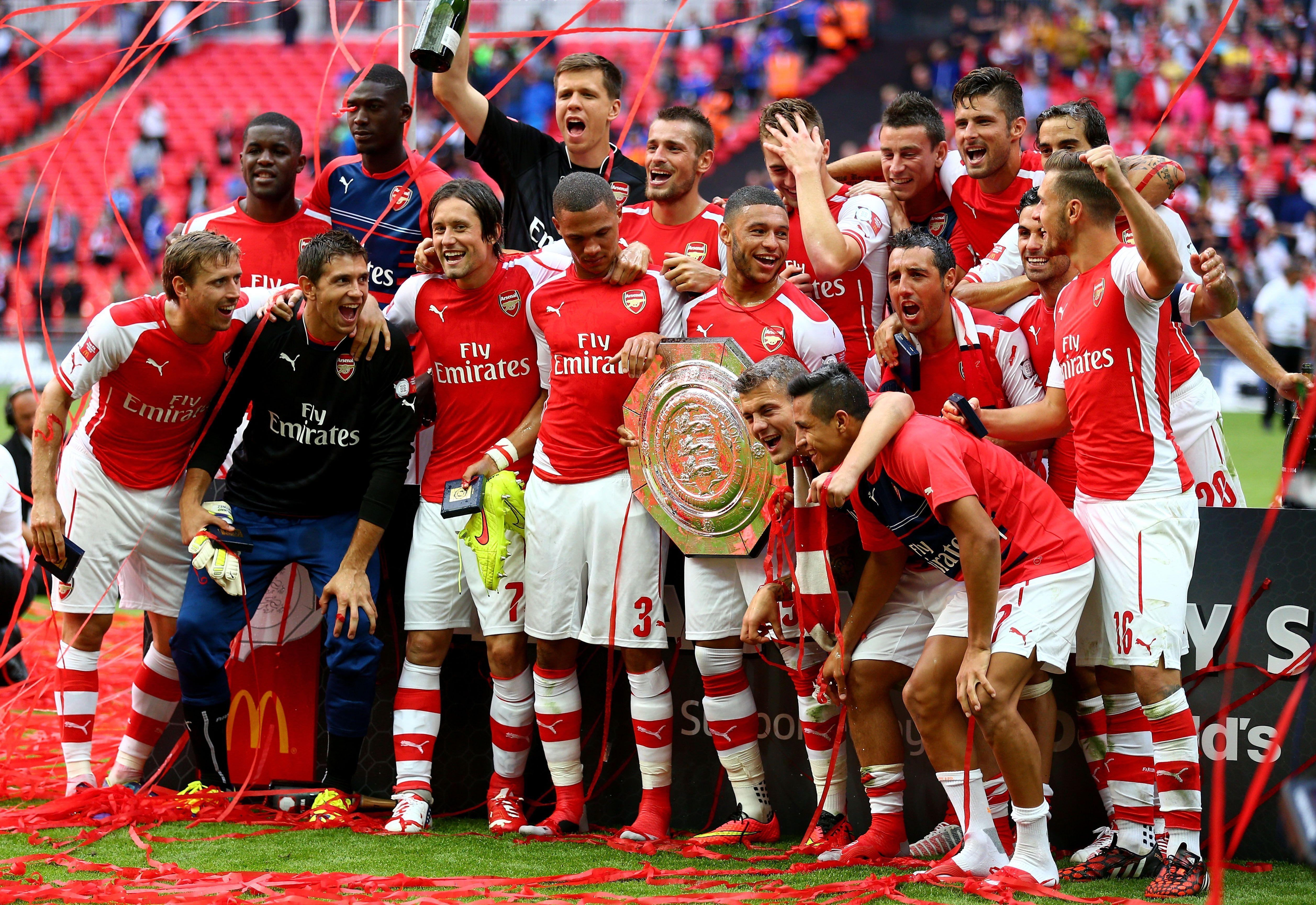 Arsenal Community Shield 2017 Wallpapers