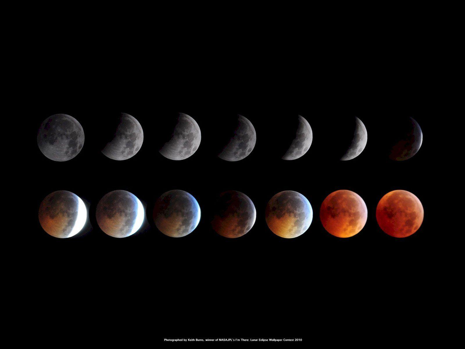 Total Lunar Eclipse of 2010 Space Wallpaper | NASA Wallpapers ...