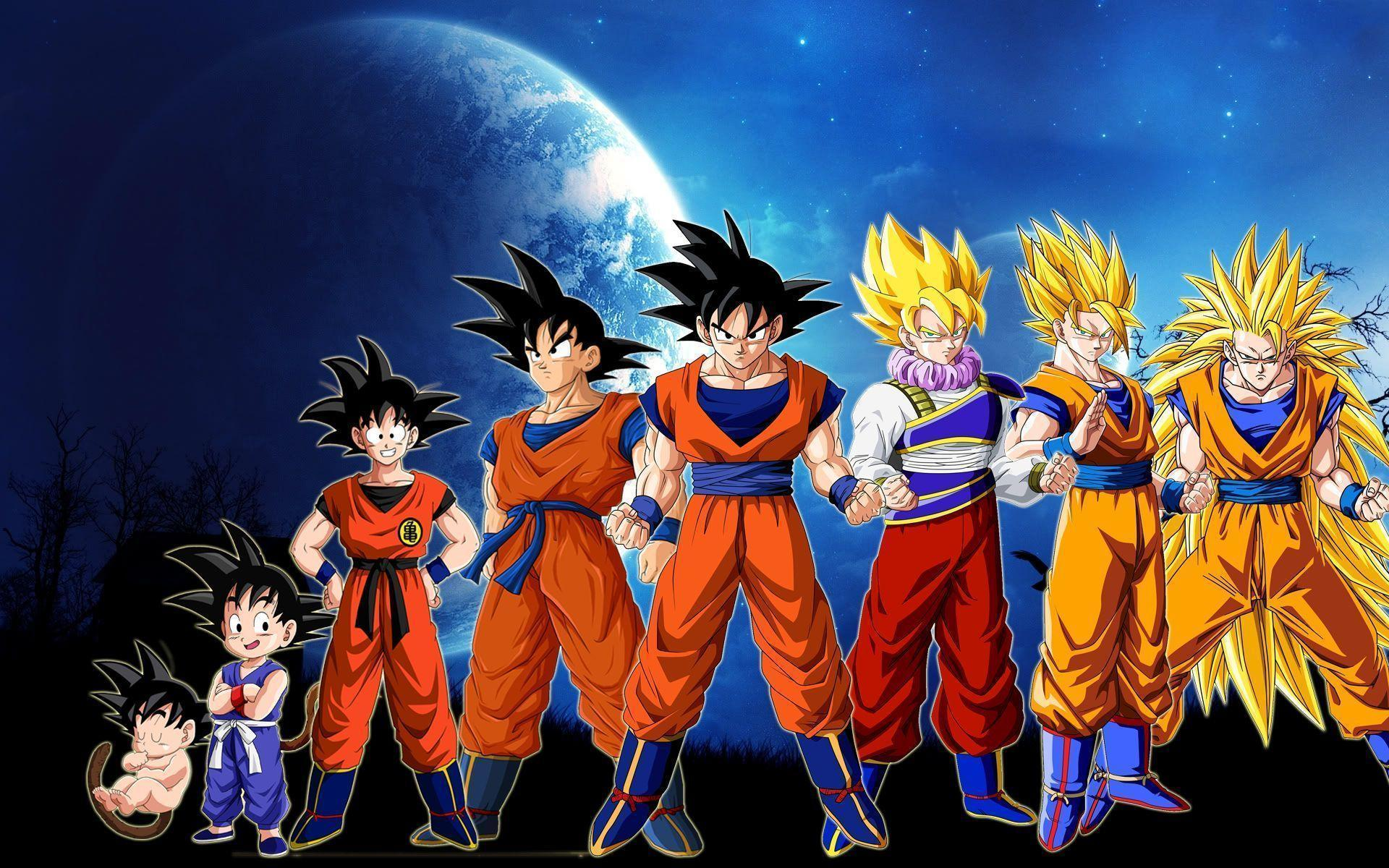 Dragon Ball Z Wallpapers HD Goku free download