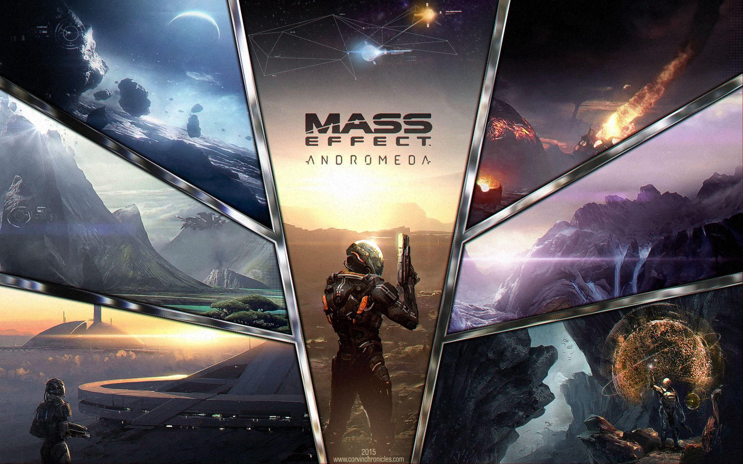 Mass Effect Andromeda Wallpapers Wallpaper Cave