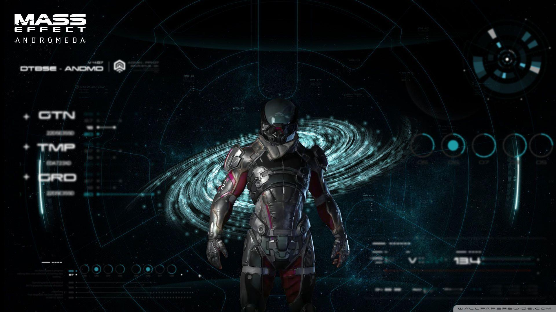 Mass Effect Andromeda Full Hd 3d Wallpapers: Mass Effect: Andromeda Wallpapers