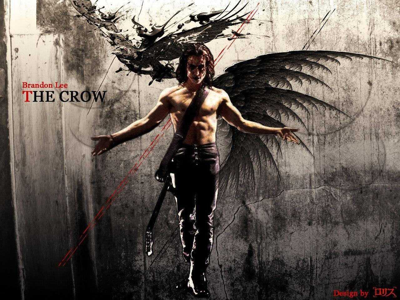 Brandon lee wallpapers wallpaper cave - The crow wallpaper ...