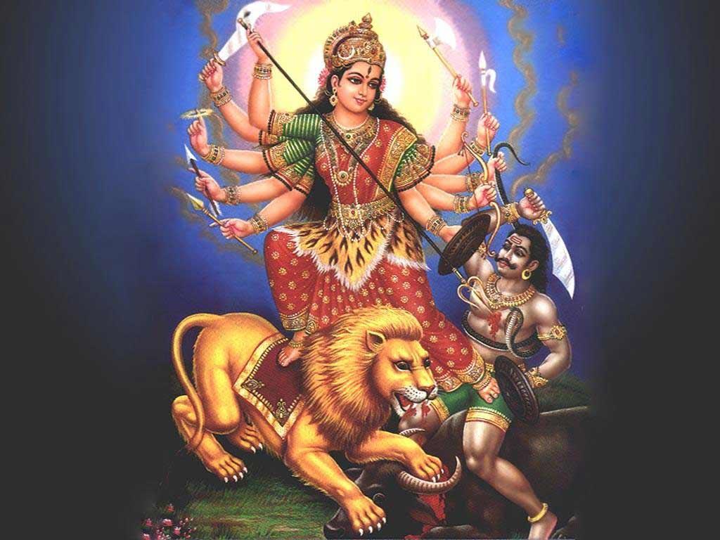 God Durga HD Wallpaper