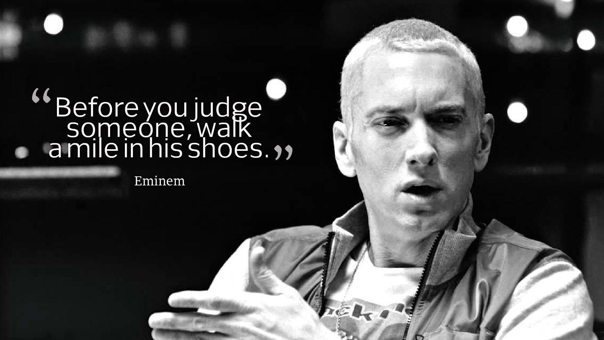 Eminem Quotes Wallpapers HD Backgrounds, Images, Pics, Photos Free .