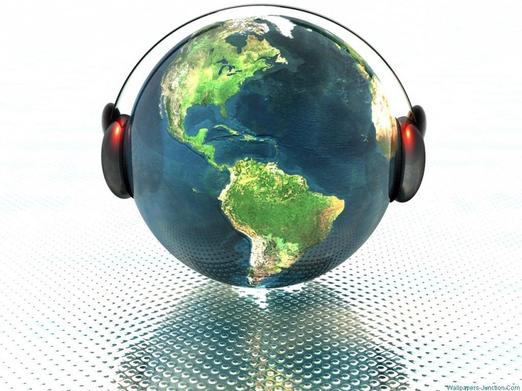 Earth Listening Music World Music Day HD Wallpapers