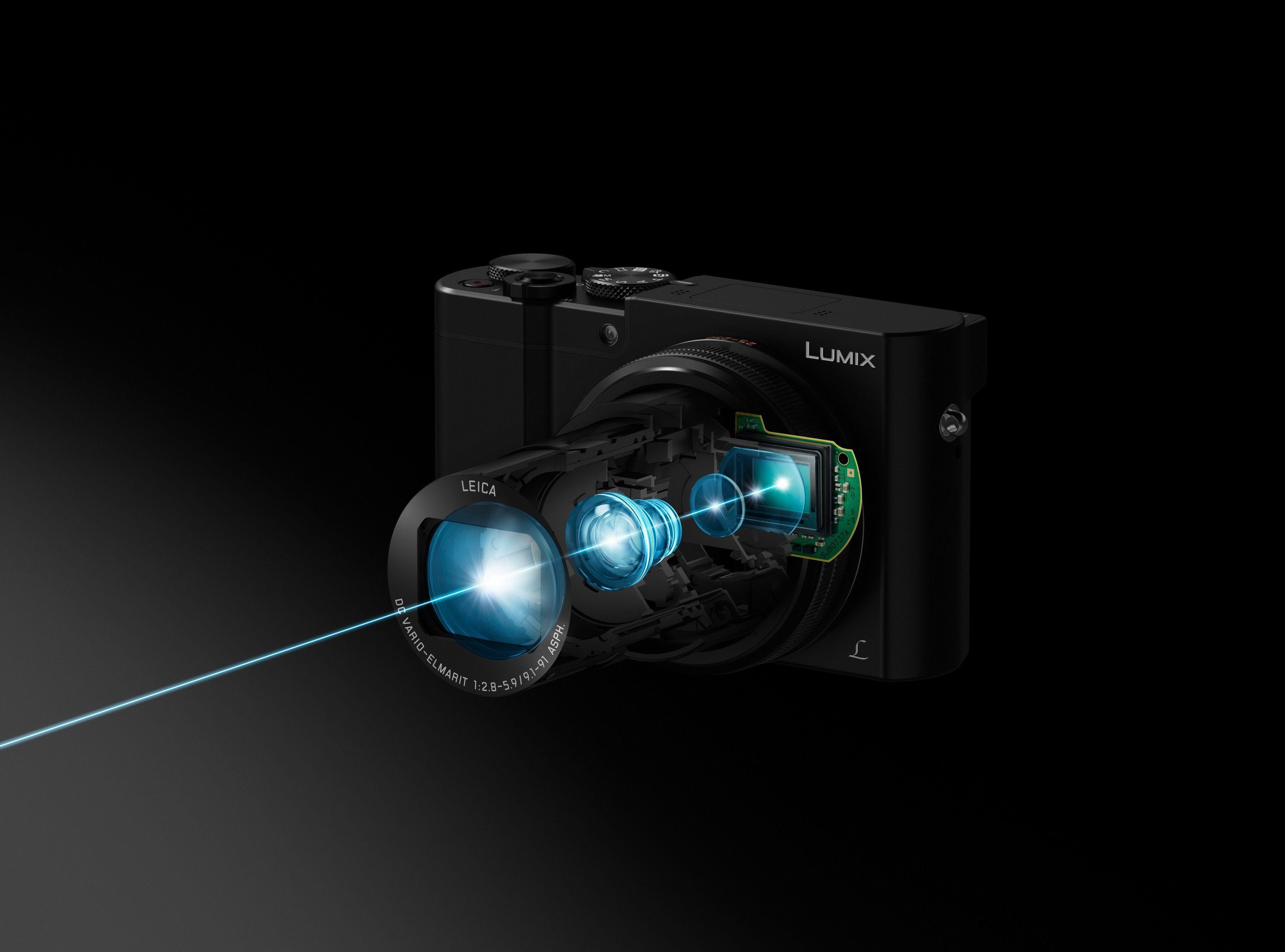 Panasonic Lumix TZ100 Camera HD Wallpaper - Wallpaper - Vactual Papers
