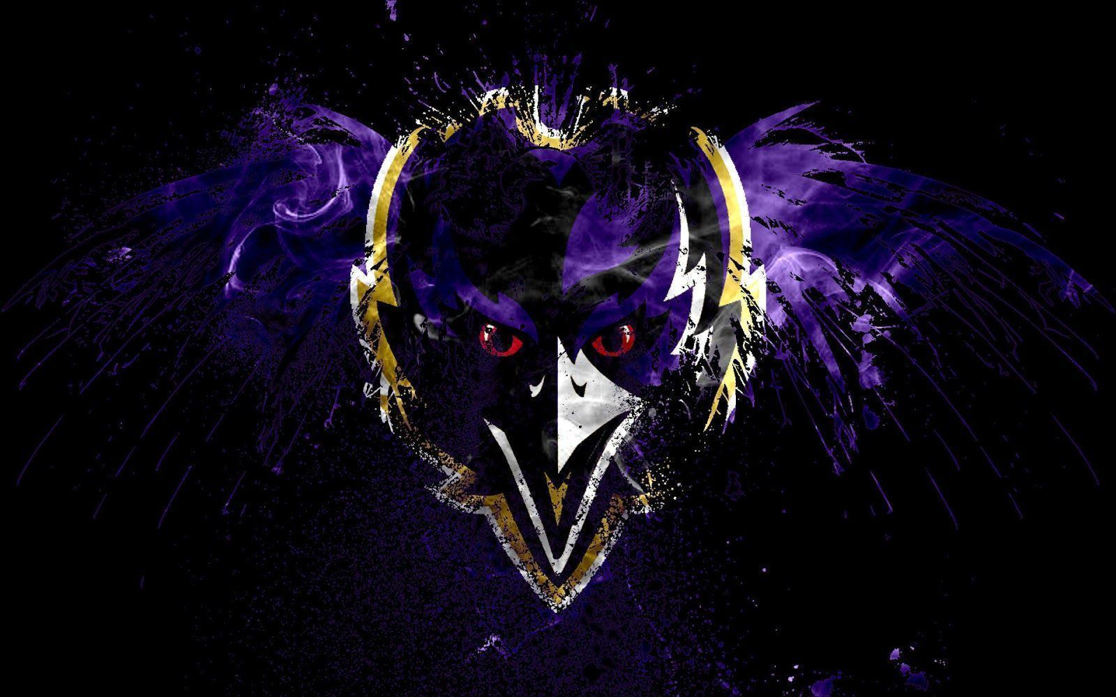 Baltimore Ravens Logo Wallpaper - WallpaperSafari