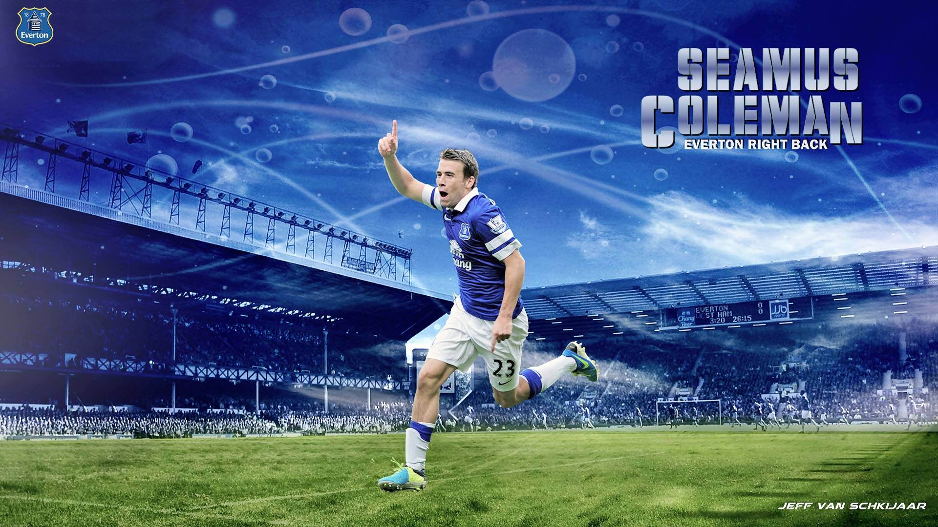 Everton Backgrounds Download Free