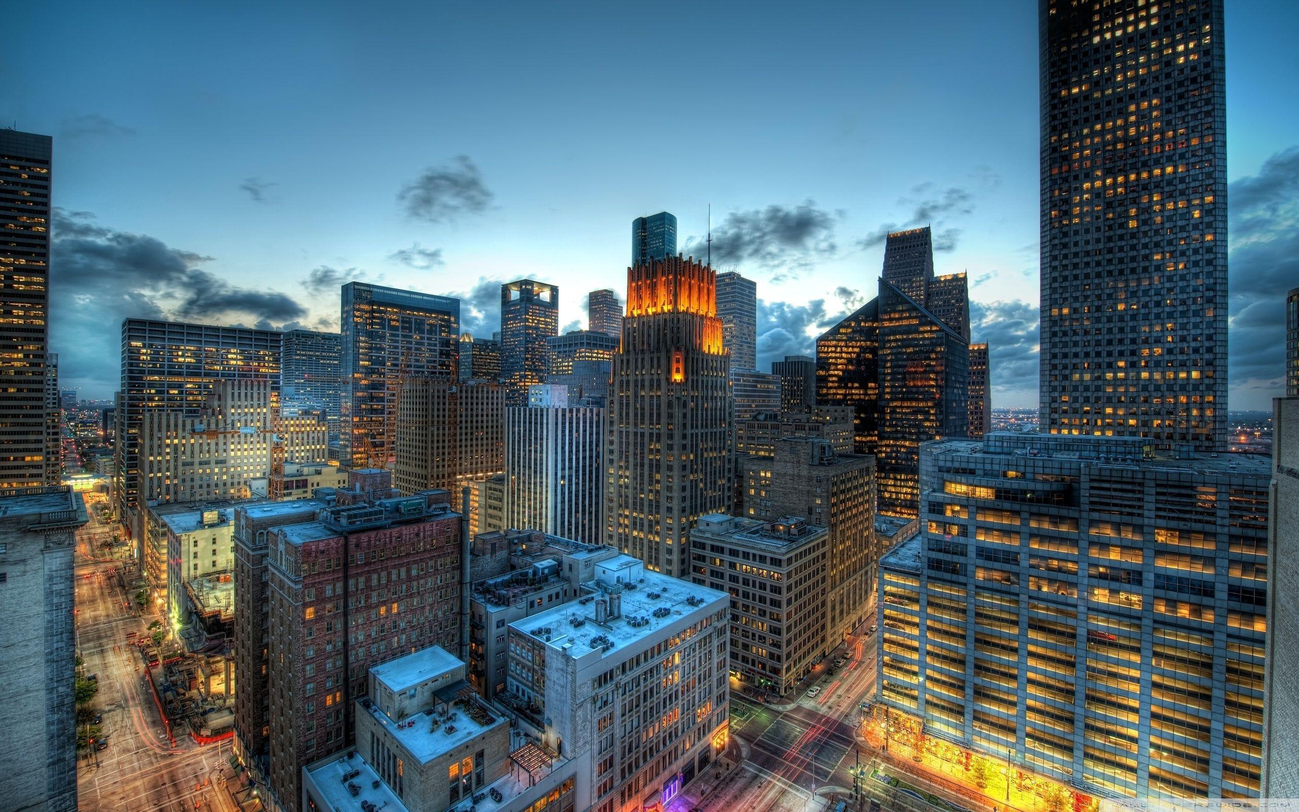 Houston, Texas, US ❤ 4K HD Desktop Wallpaper For 4K Ultra HD TV