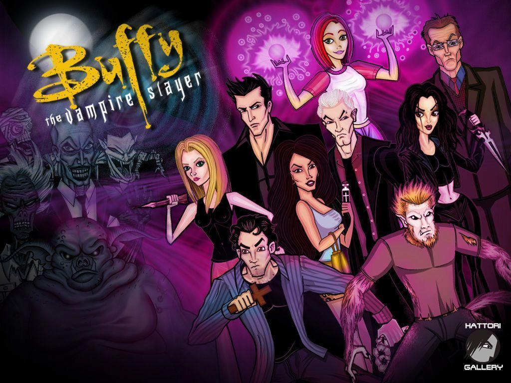Buffy The Vampire Slayer And Angel favourites by ShadoWDueL on ...