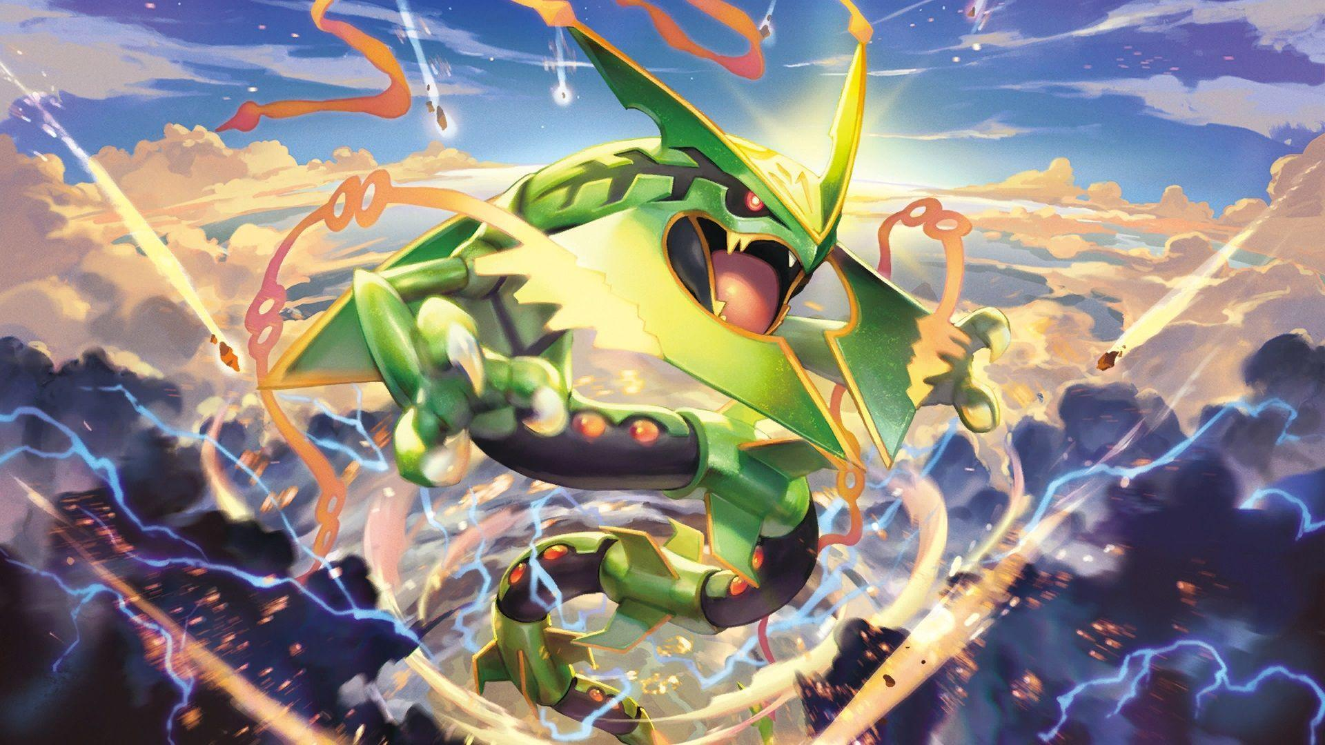 Rayquaza HD Wallpapers - Wallpaper Cave