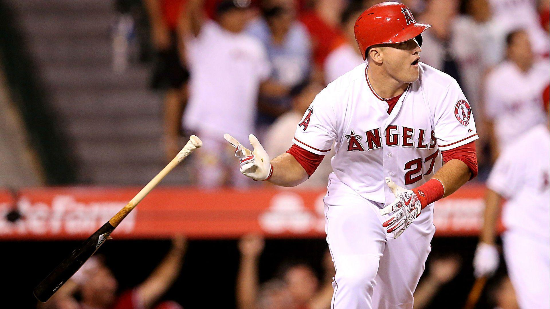 Mike Trout 2017 Wallpapers Wallpaper Cave