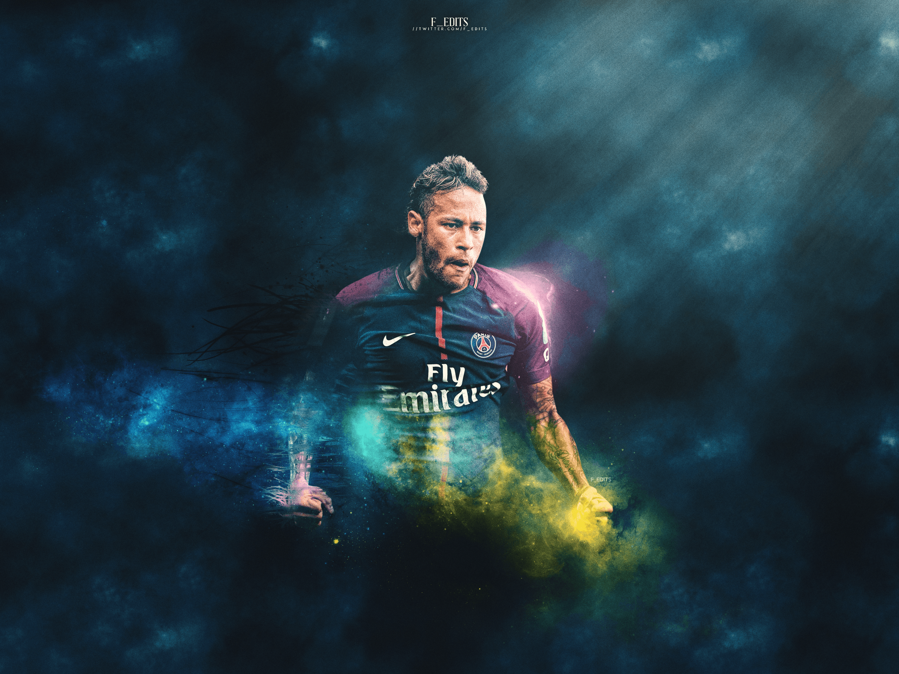 Neymar PSG Desktop Wallpaper By F EDITS On DeviantArt
