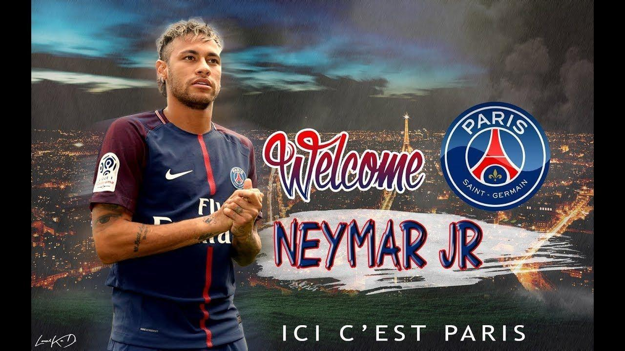Photoshop tutorial : Football Wallpaper - Neymar Welcome To PSG + ...