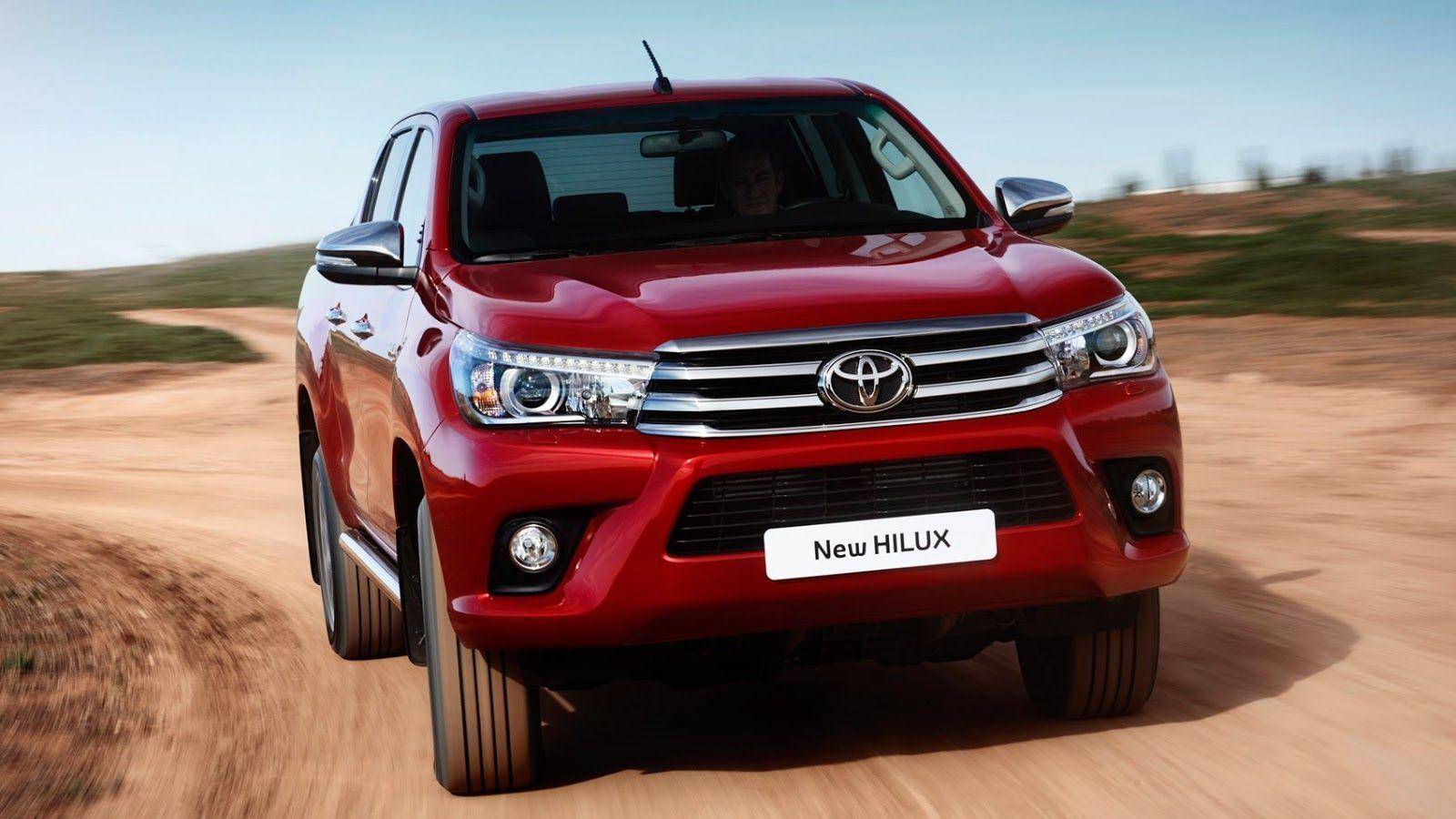 New Toyota Hilux 2017 HD Wallpapers