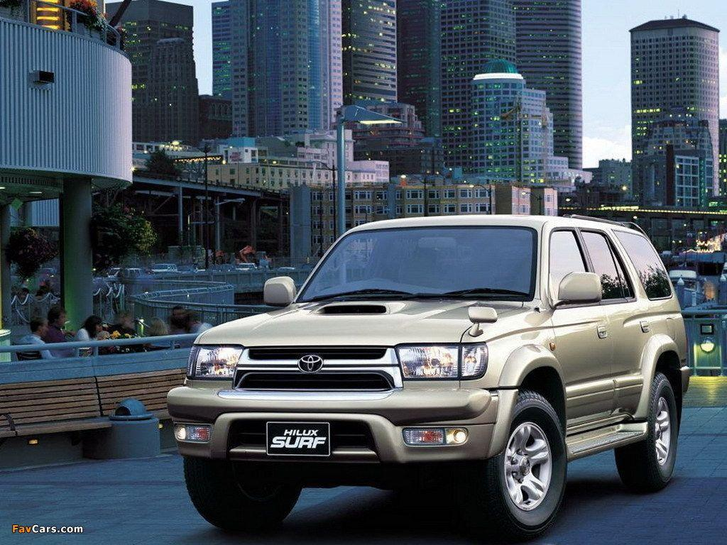 Hilux Surf (N185) 1995–2002 wallpapers