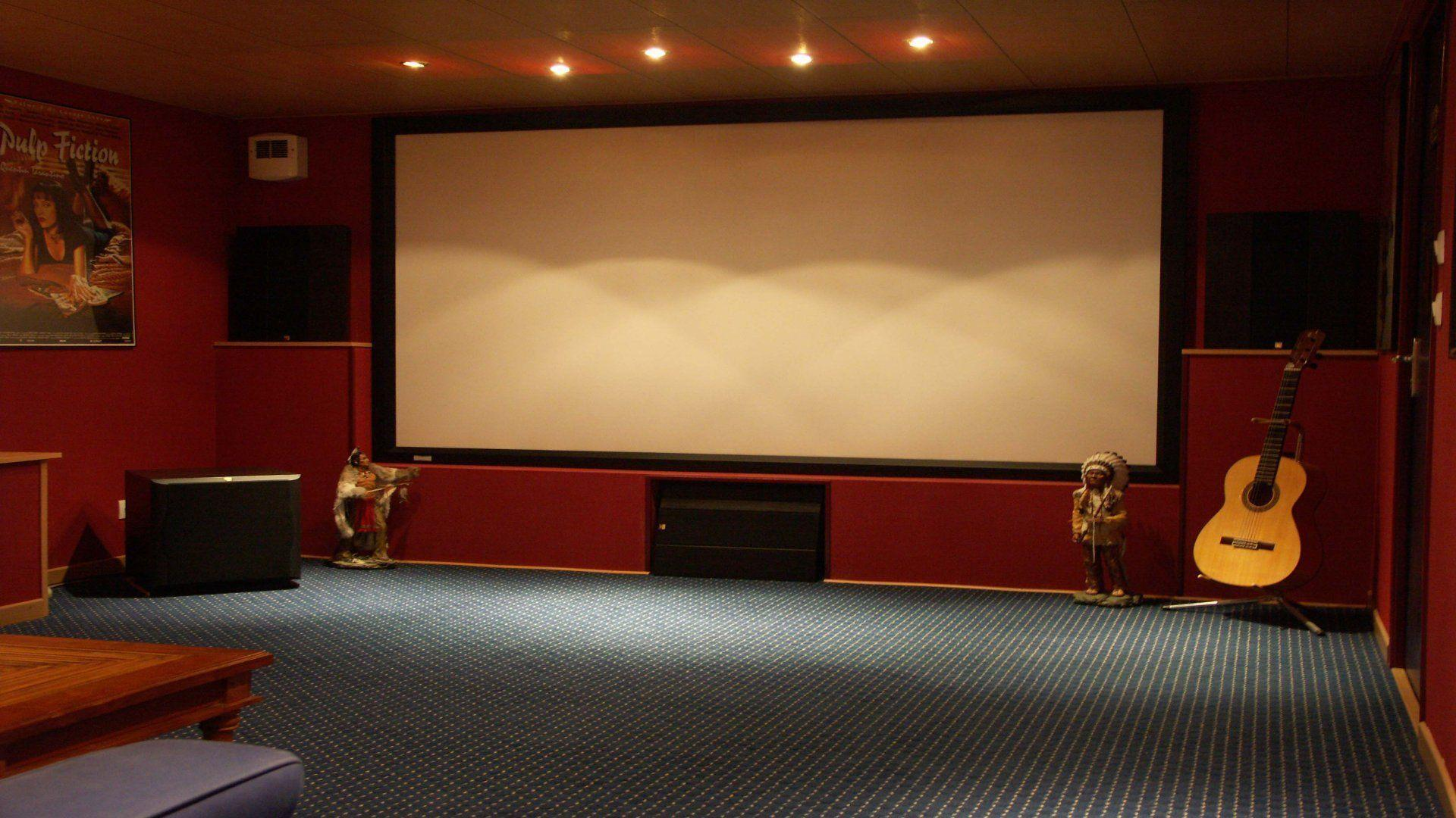 Home cinema wallpapers wallpaper cave - Home theater wallpaper ...