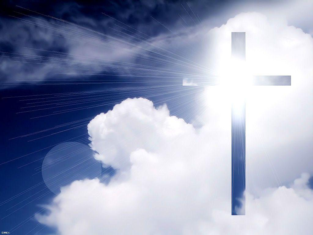 pictures of the cross | Cross in the Sky Wallpaper - Christian ...
