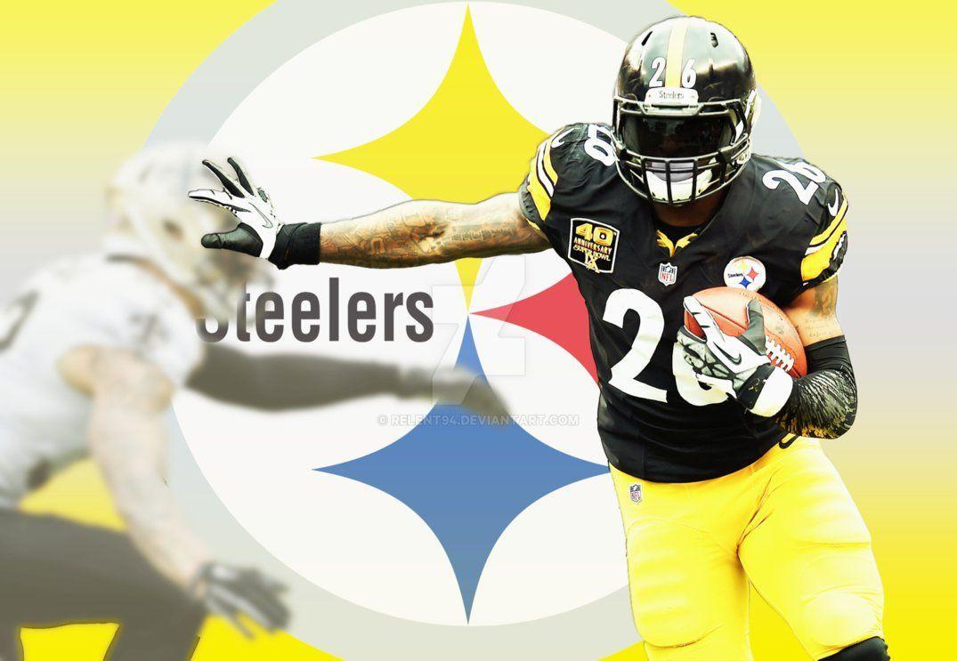 Le'Veon Bell Pittsburgh Steelers by Relent94 on DeviantArt