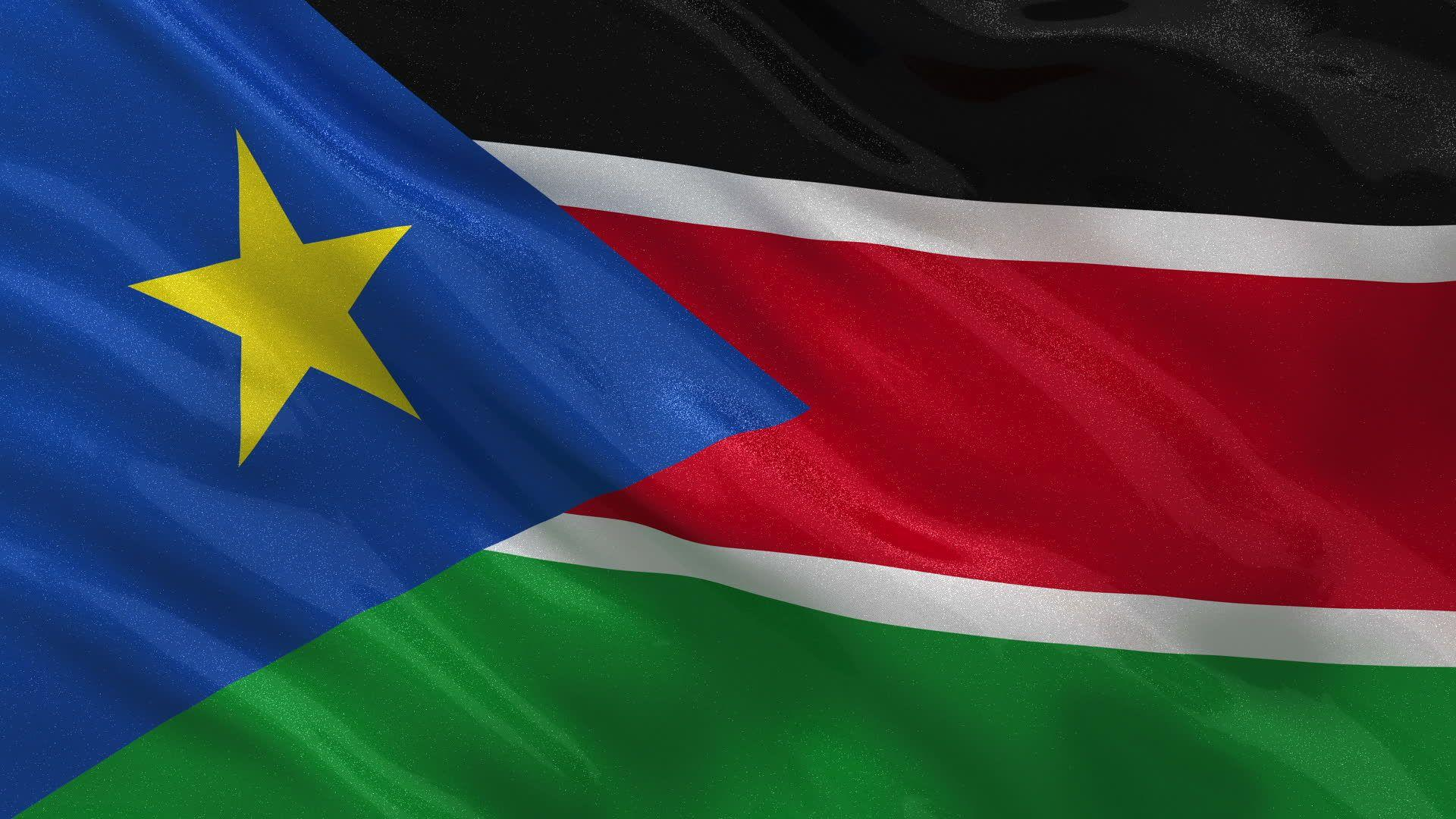 South Sudan Flag - Wallpaper, High Definition, High Quality, Widescreen