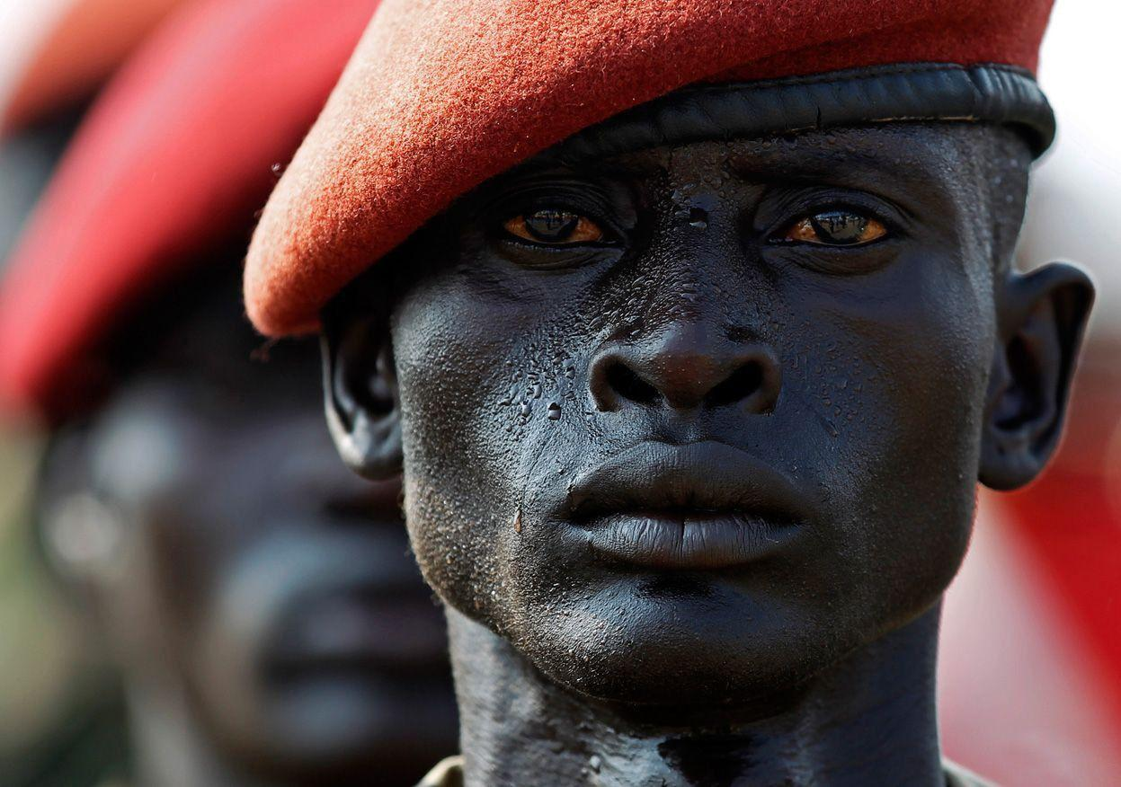 South Sudan, Soldier, Negro, Sweat wallpapers