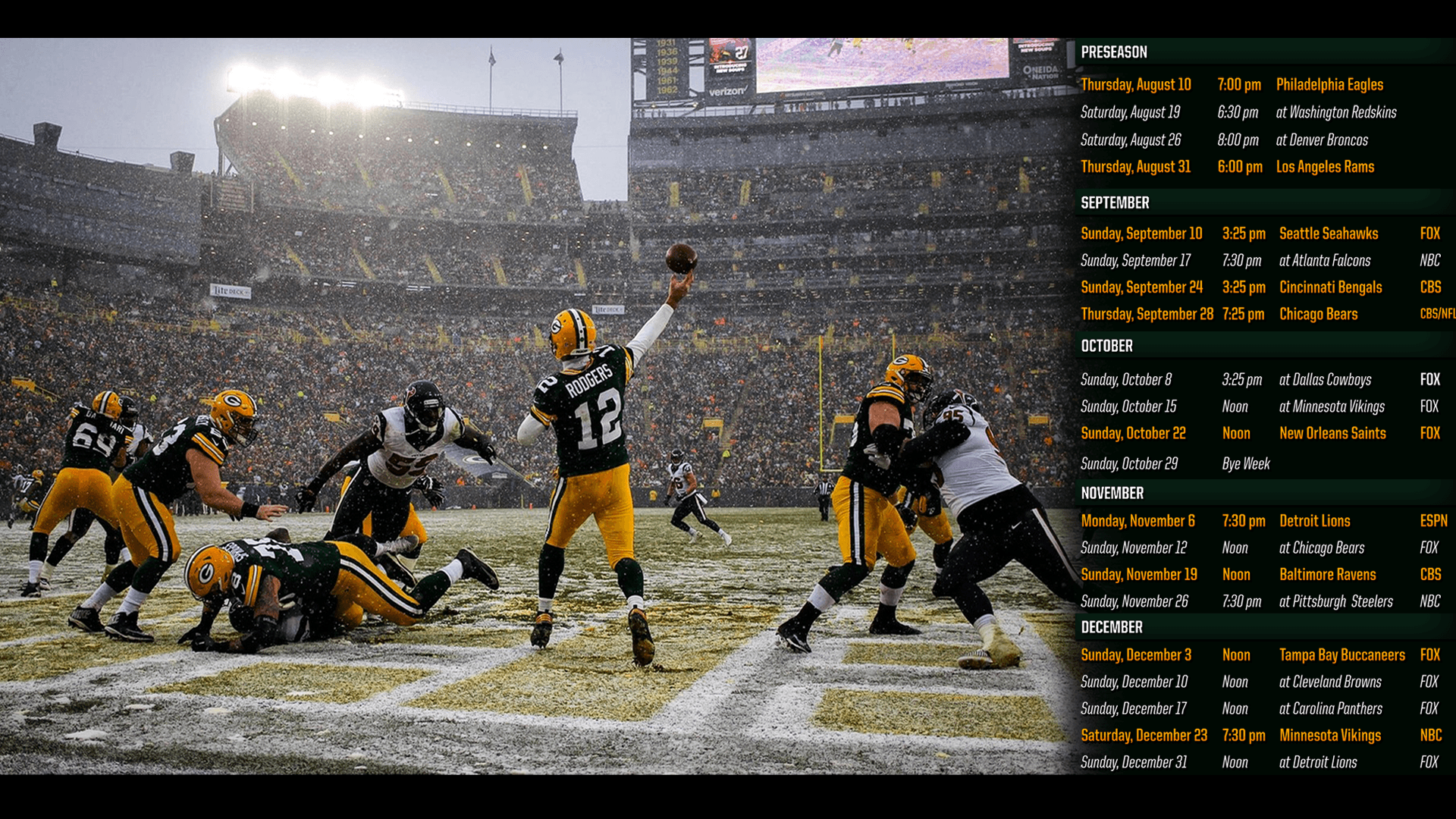 Green bay packers 2017 wallpapers wallpaper cave i made a 2017 schedule desktop wallpaper greenbaypackers voltagebd Image collections