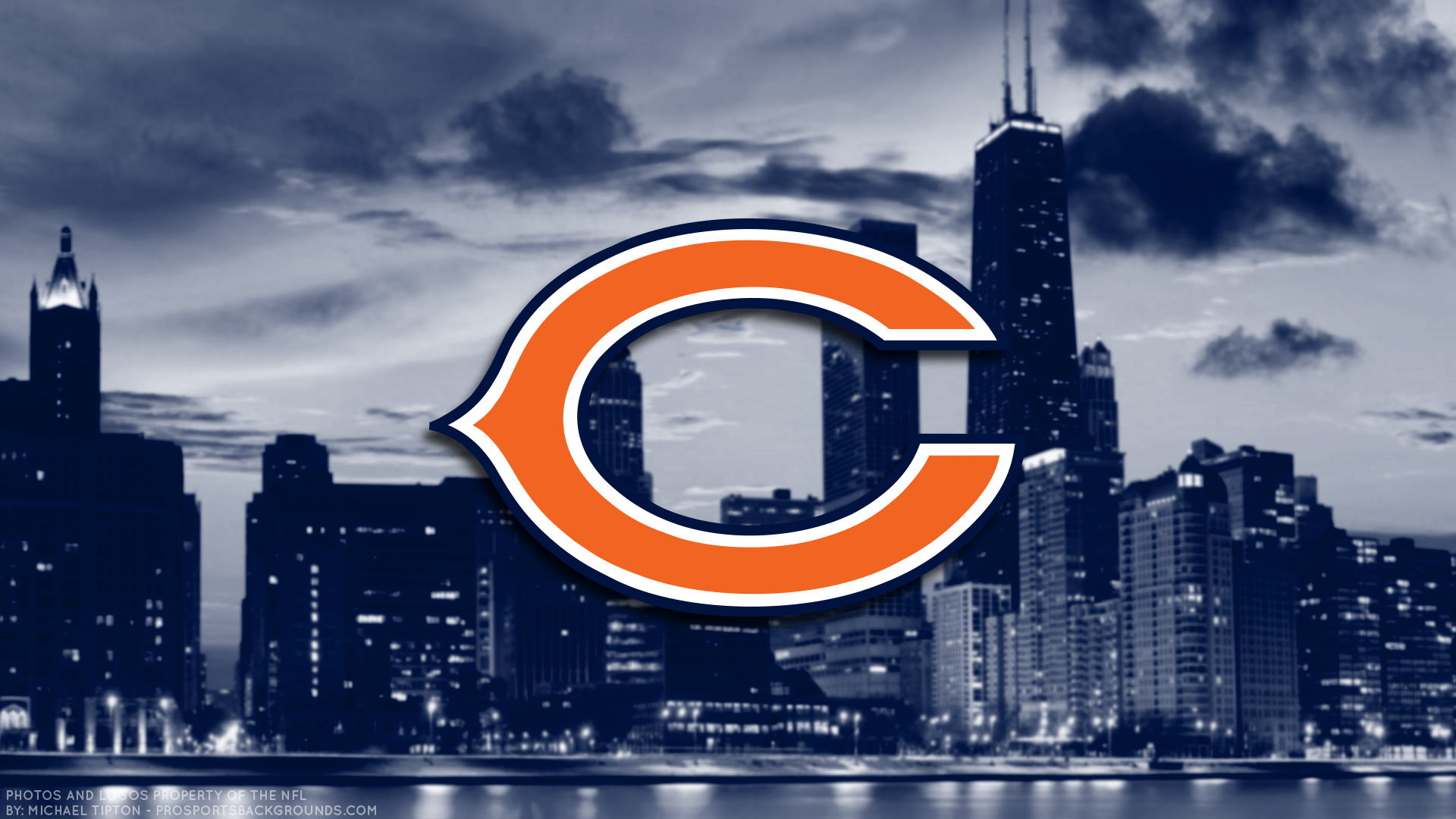 chicago bears 2018 wallpapers wallpaper cave