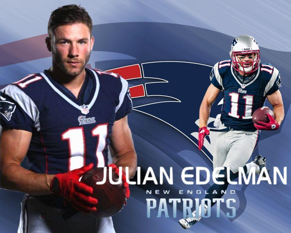 Julian Edelman New England Patriots Wallpaper By