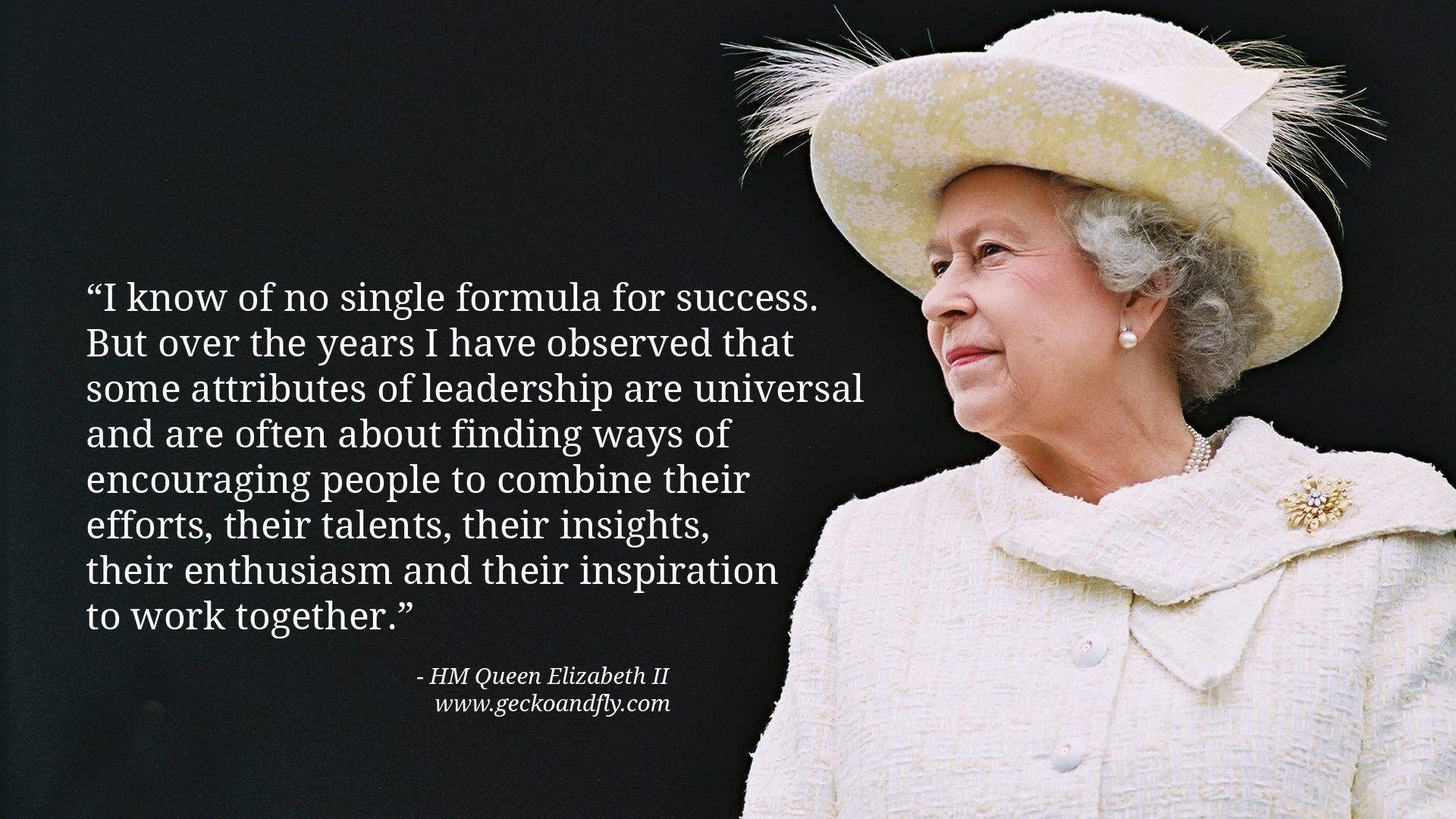 women in power queen elizabeth How can the answer be improved.