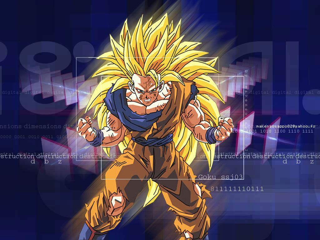 Dragonball Z Movie Characters image Goku Super Saiyan 3 Wallpapers