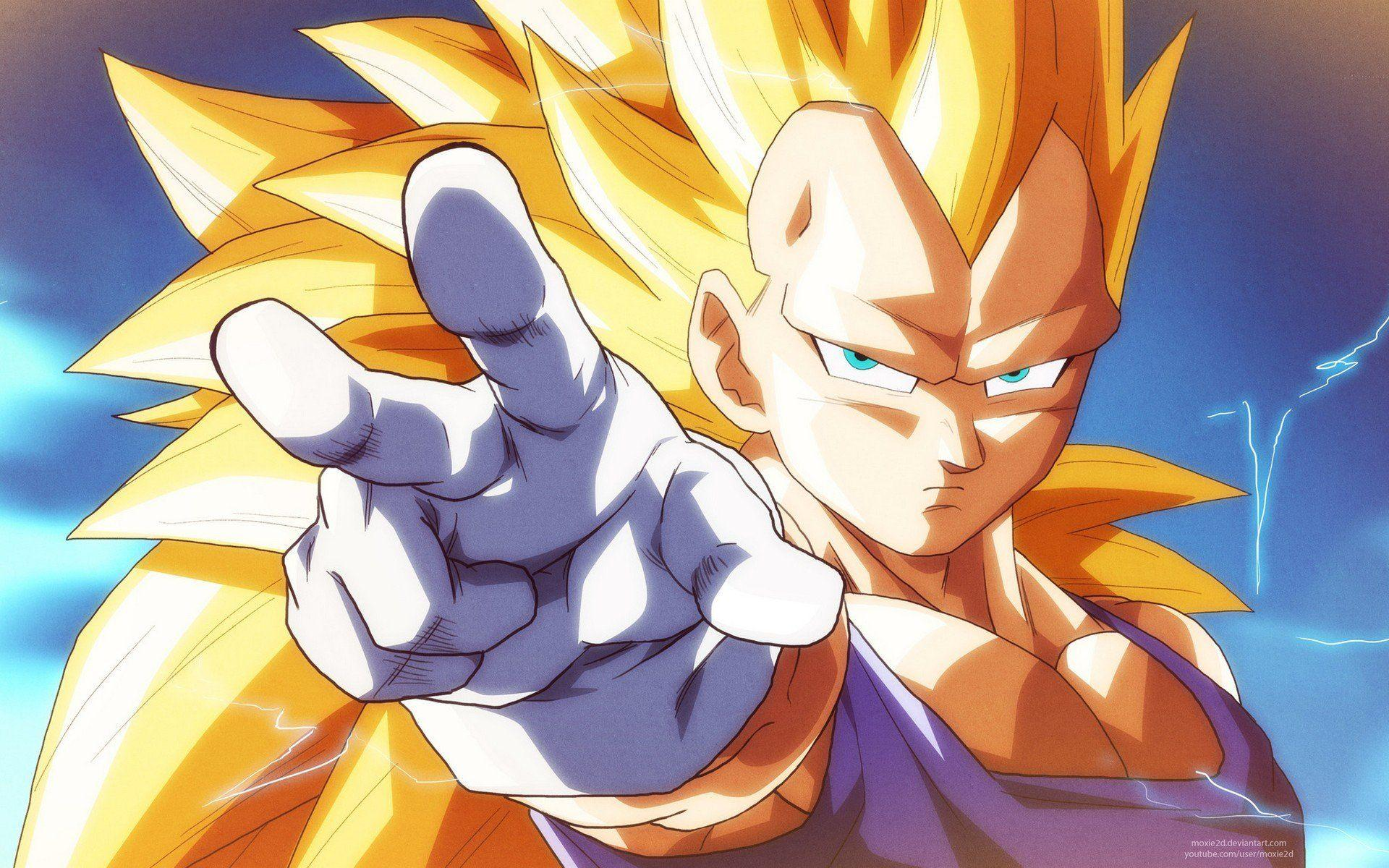 Vegeta Super Saiyan 3 Wallpapers