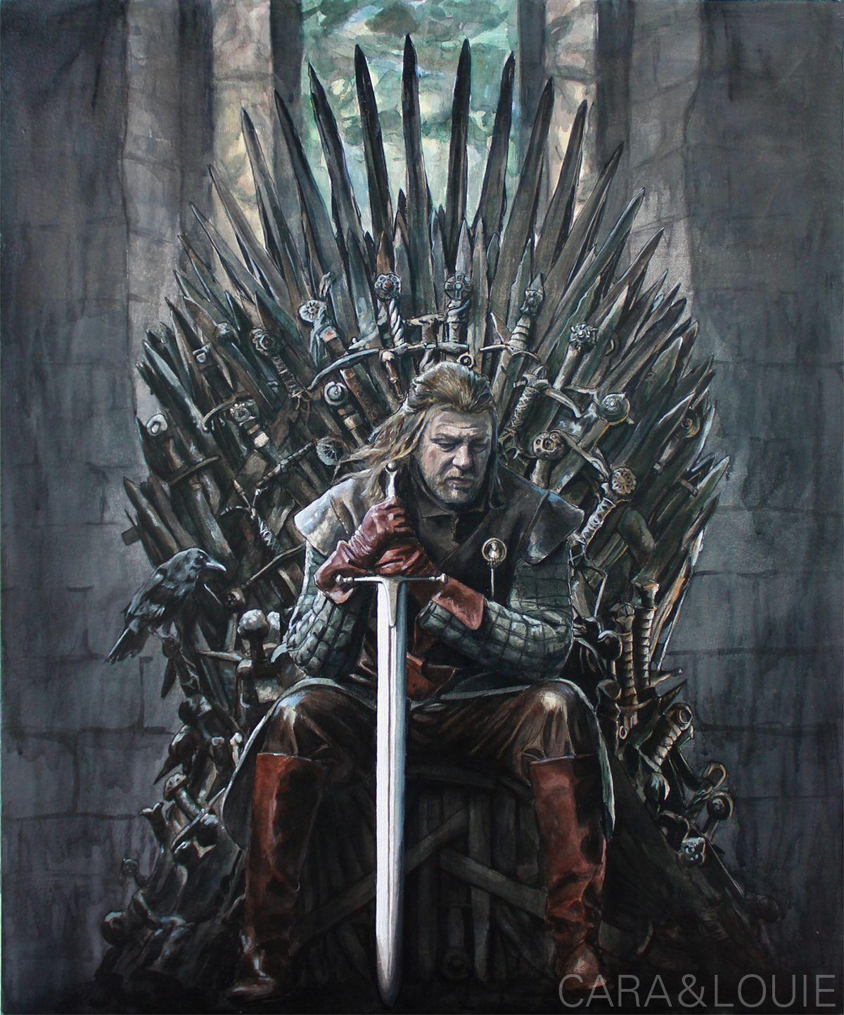 Game Of Thrones Throne Wallpaper: Ned Stark Wallpapers