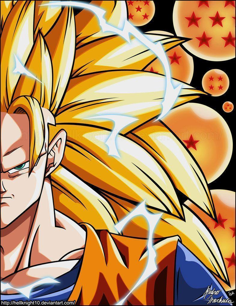 DRAGON BALL Z WALLPAPERS: Goku super saiyan 3