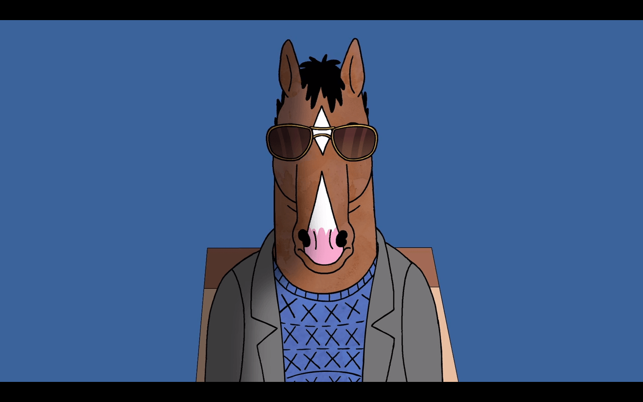 Made a wallpapers album of Bojack on the 'Escape From L.A