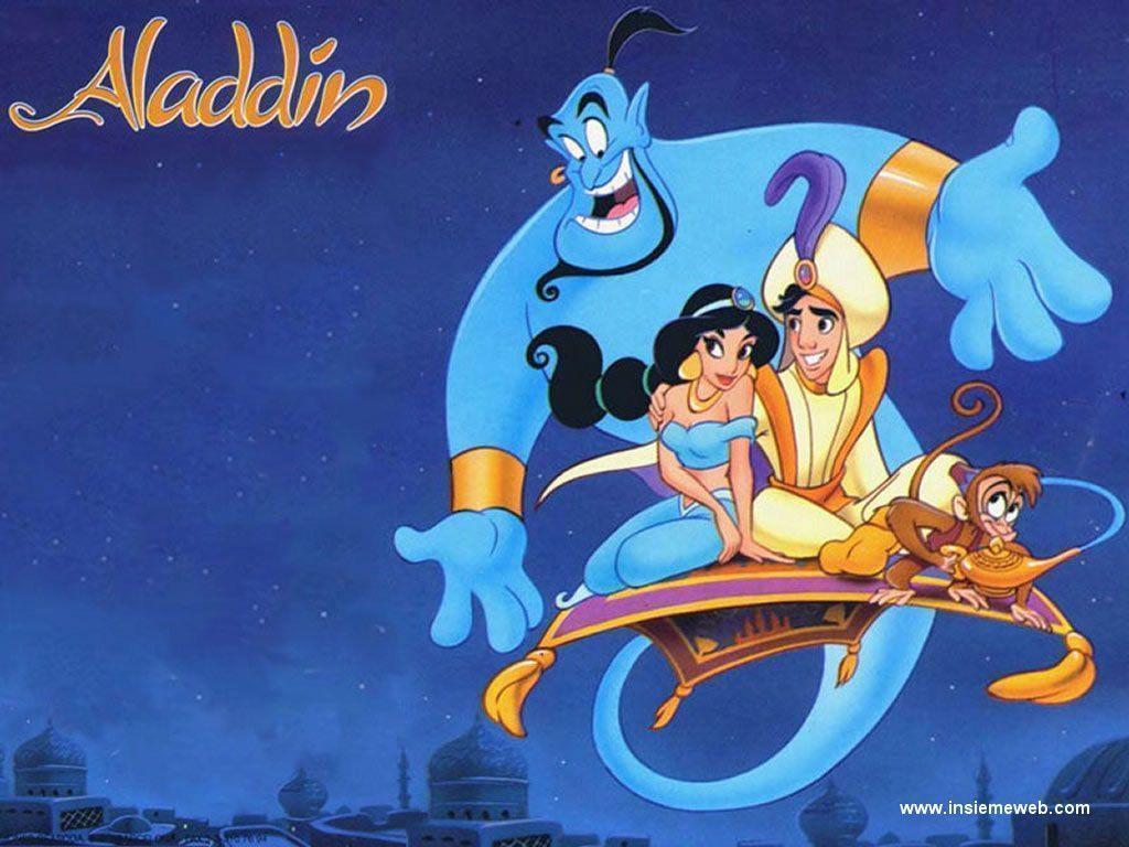 Aladdin Disney Wallpapers - Wallpaper Cave