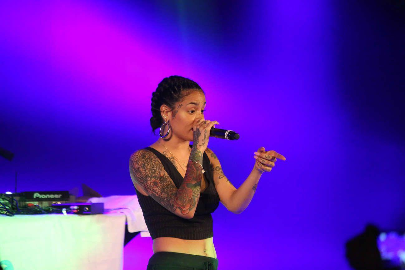 Kehlani: Performing at VINYL -23 - GotCeleb