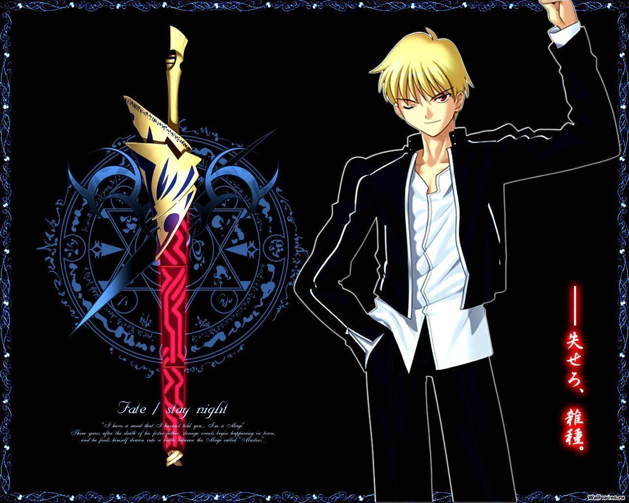 gilgamesh fatezero wallpapers wallpaper cave
