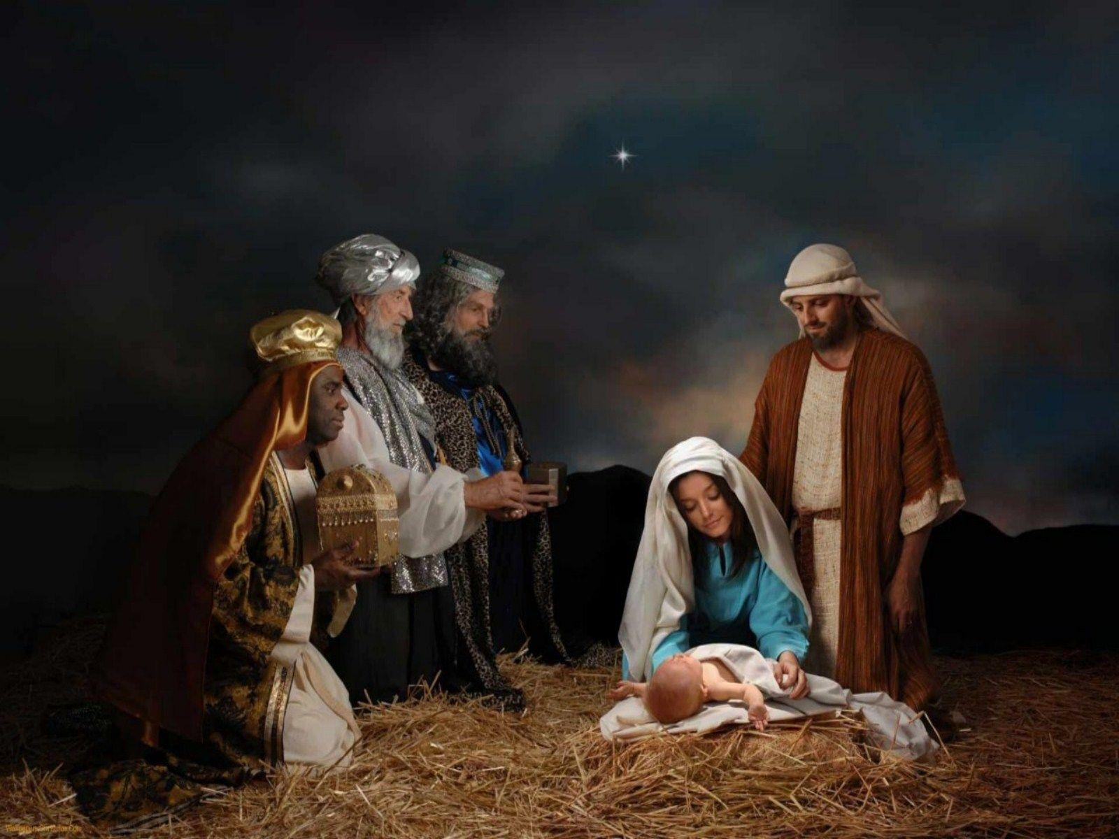 Free Pictures of Nativity Scenes