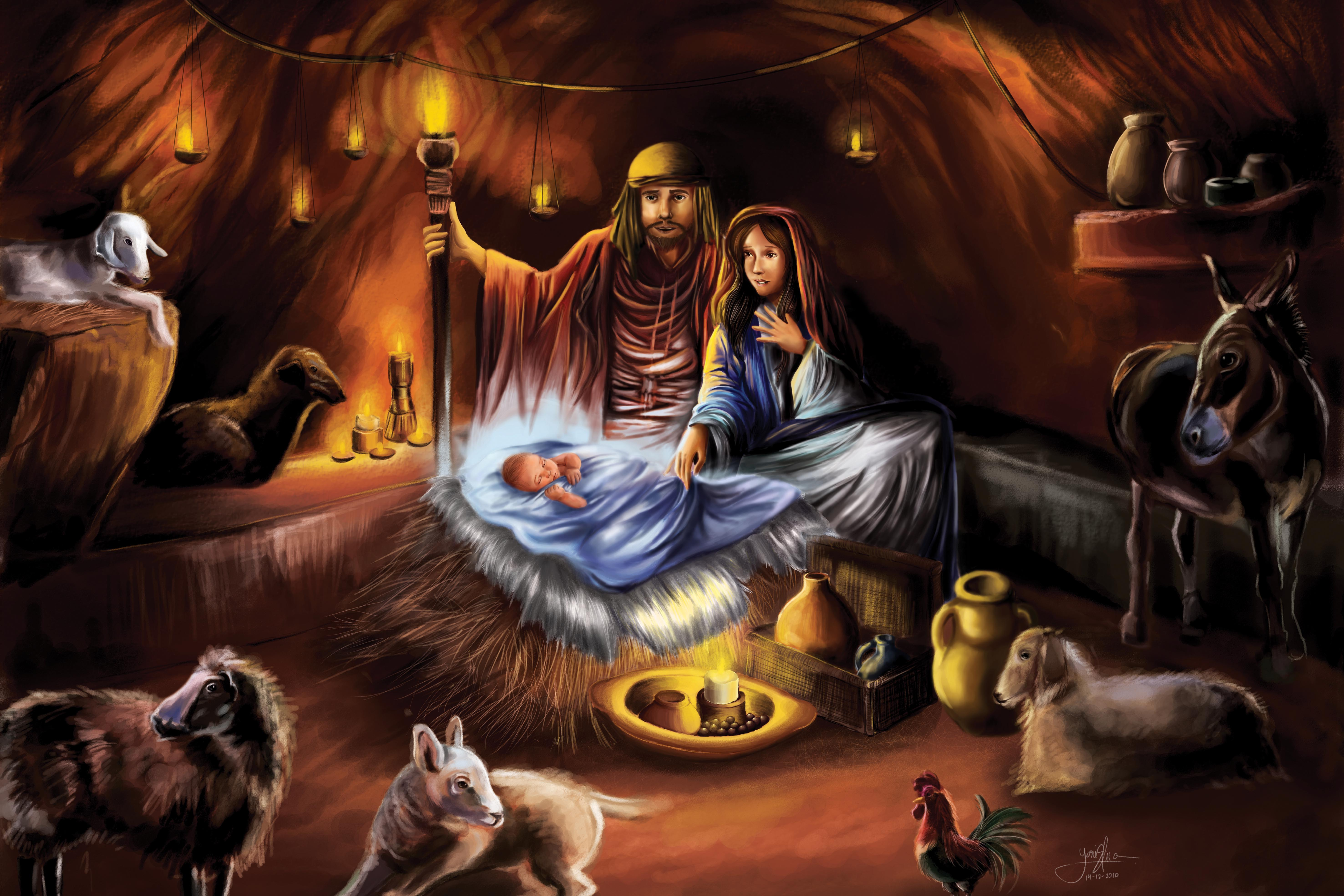 Jesus Birth Wallpapers