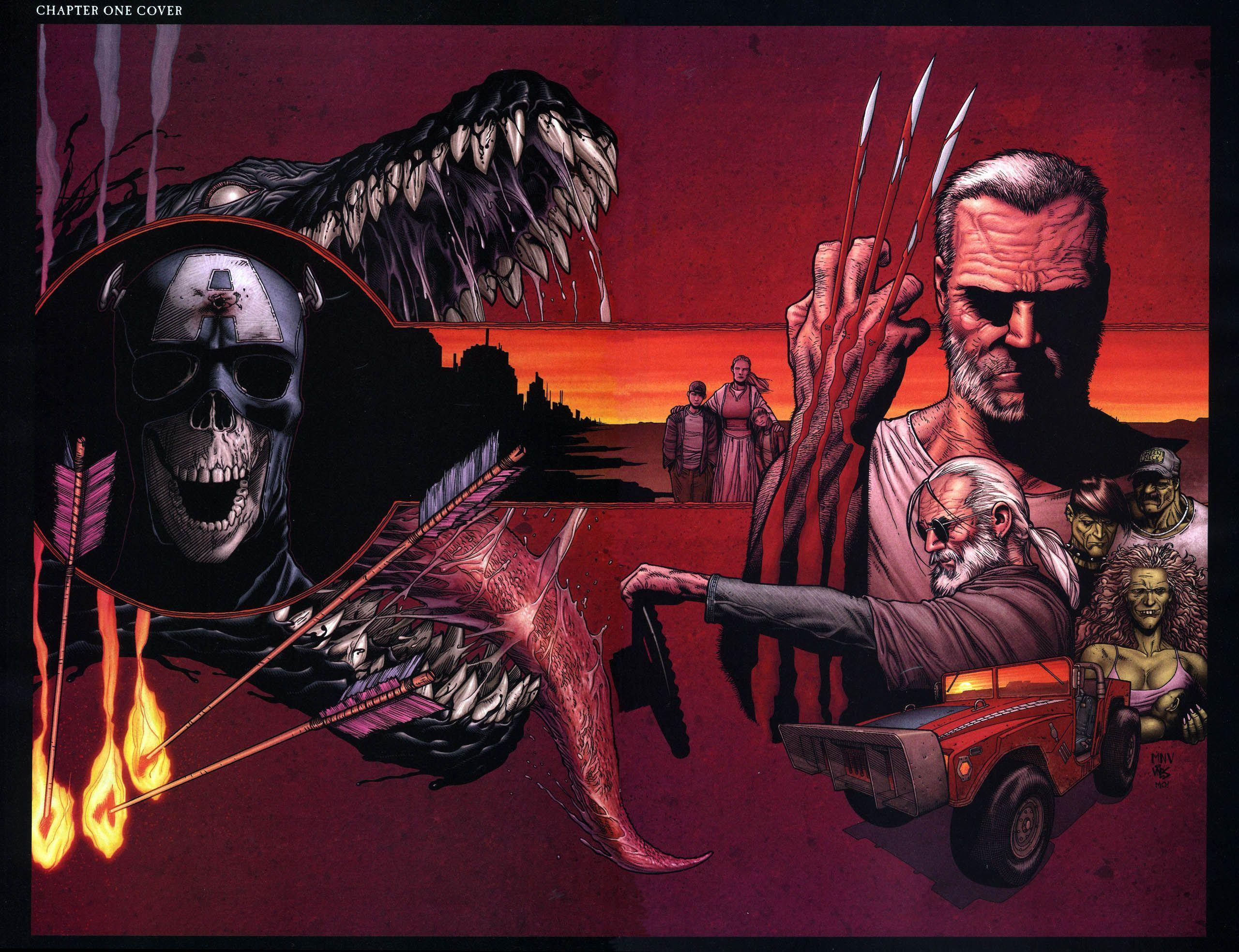 5 Old Man Logan HD Wallpapers | Backgrounds - Wallpaper Abyss