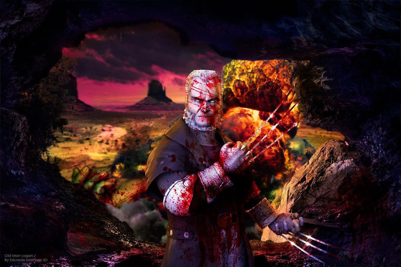Old Man Logan Wallpaper Comic 3D Wallpaper and Background ...