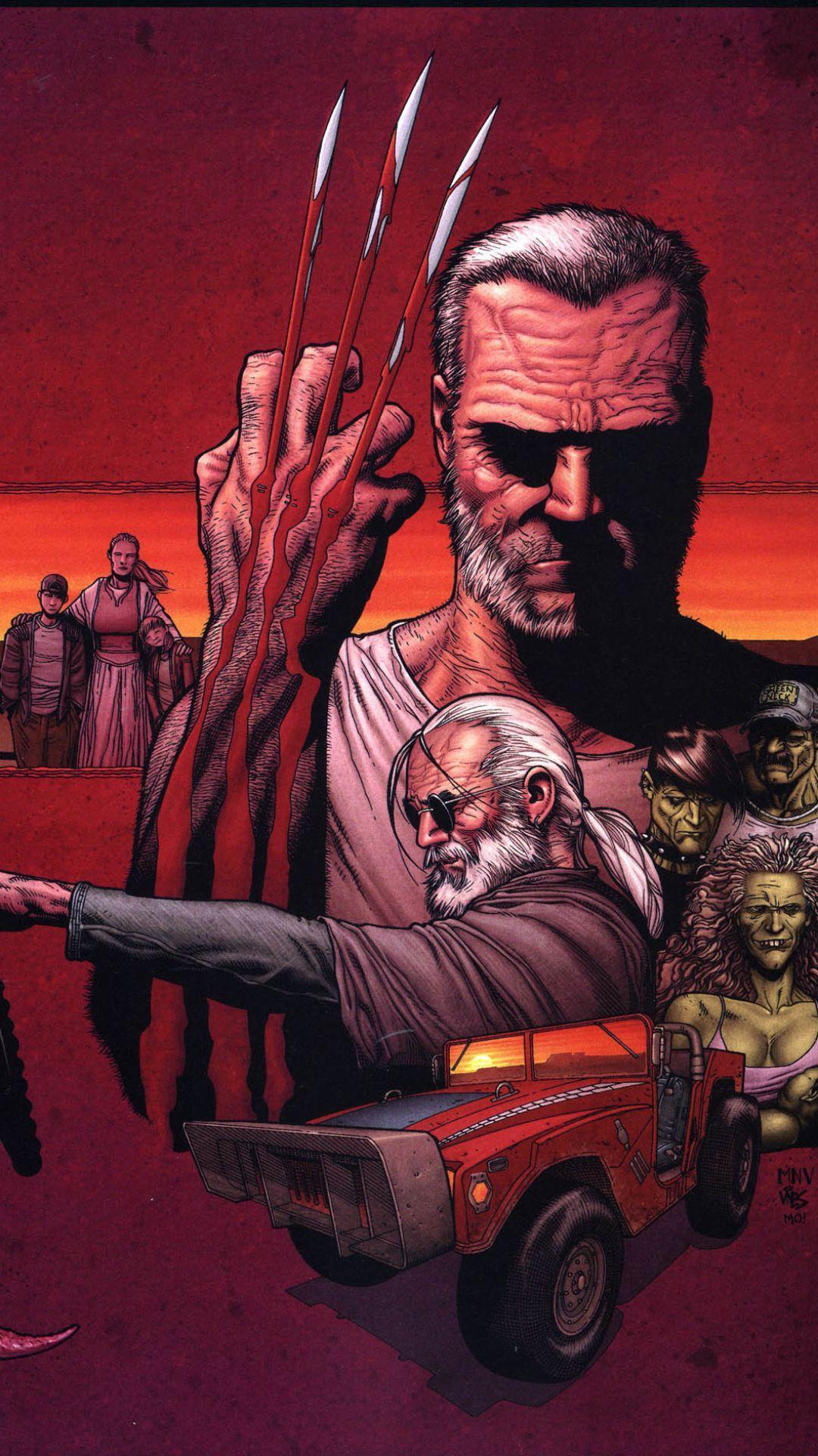 iPhone 7 - Comics/Old Man Logan - Wallpaper ID: 668851