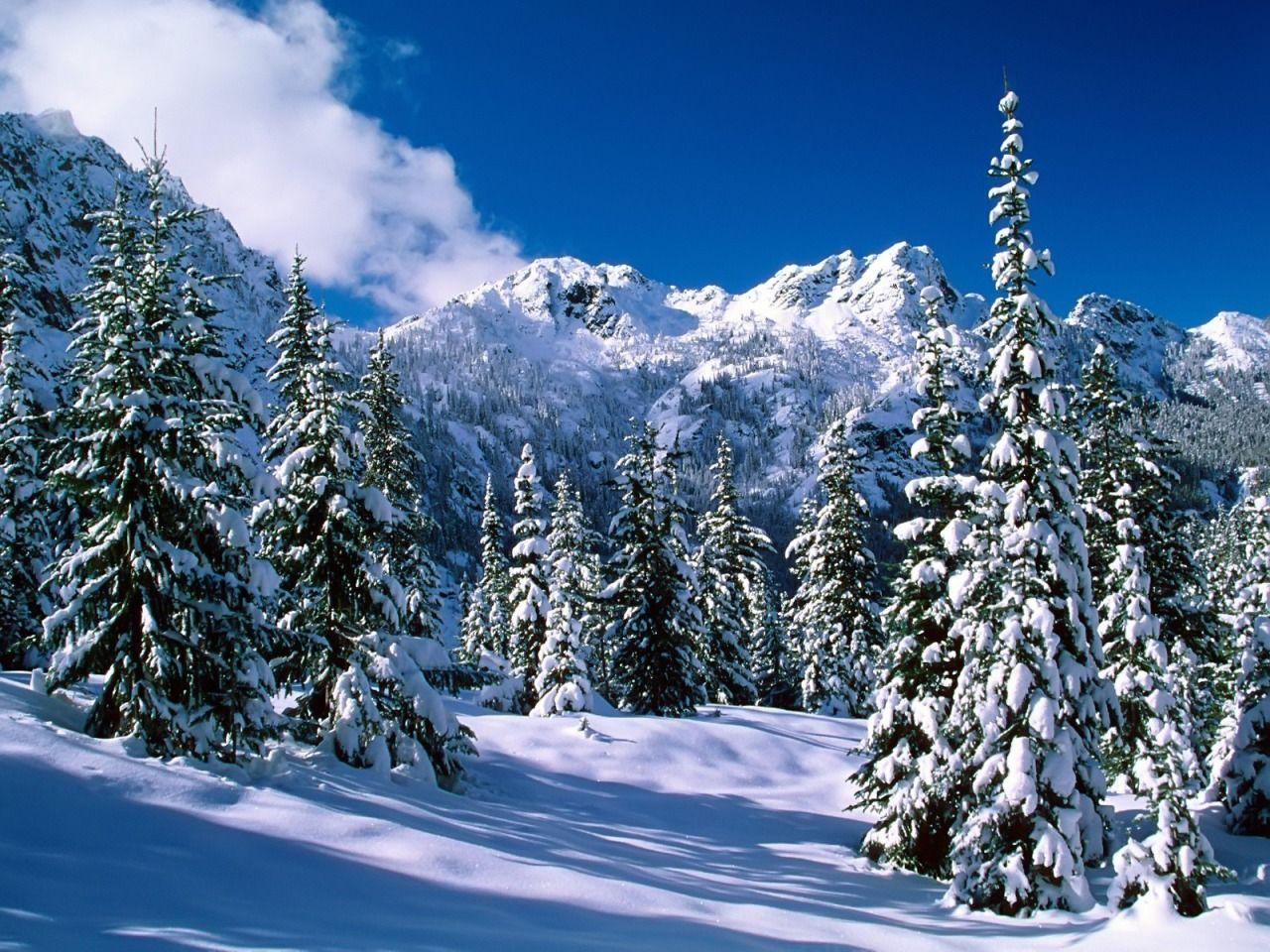 Alpine Lakes Wilderness Wallpaper Winter Nature Wallpapers in jpg ...