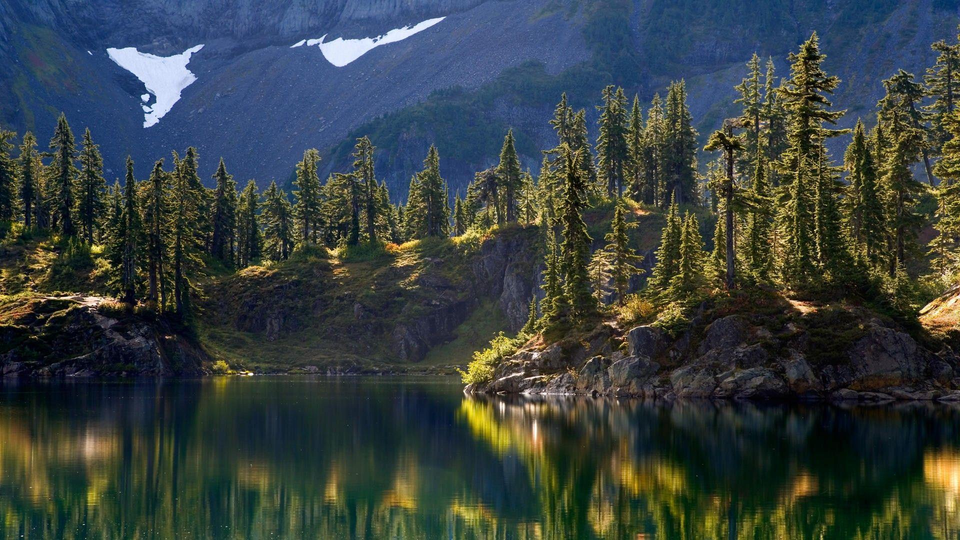 Baker wilderness washington mount lake hayes backgrounds landscape ...