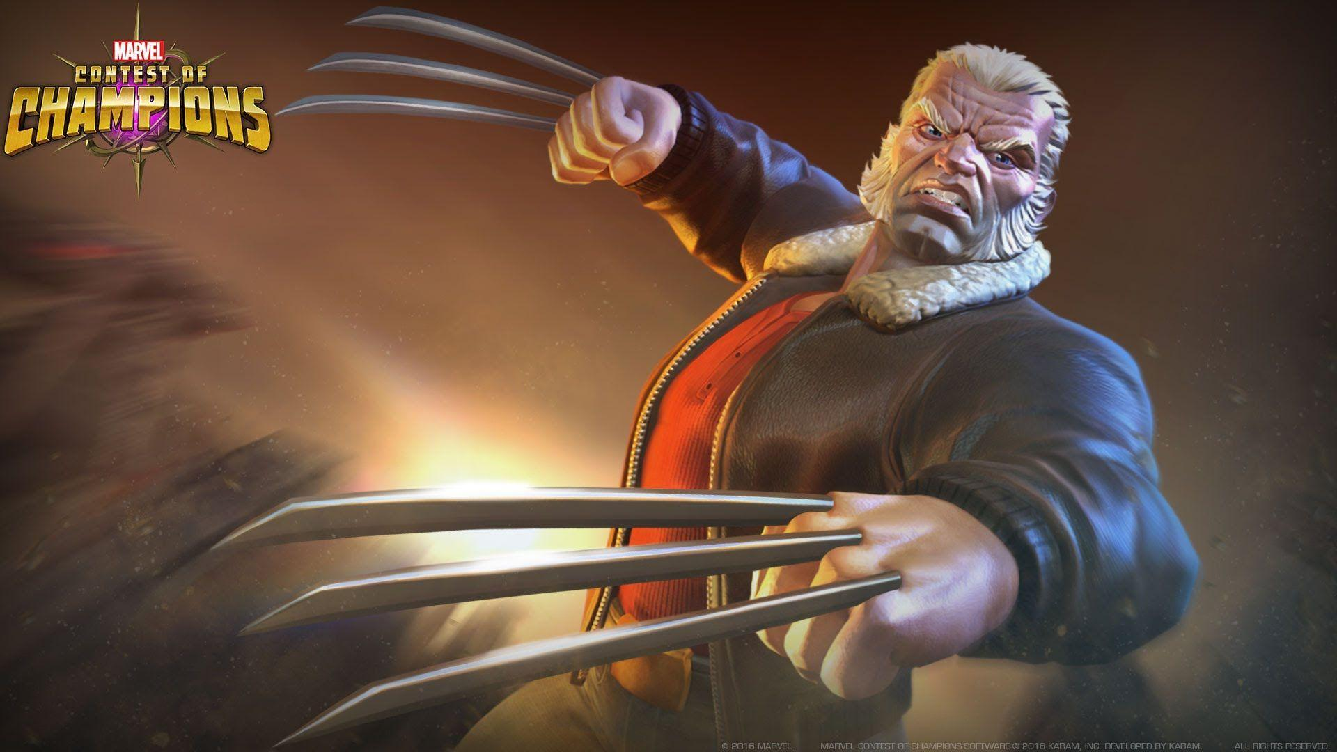 Marvel Contest of Champions Old Man Logan Spotlight - YouTube